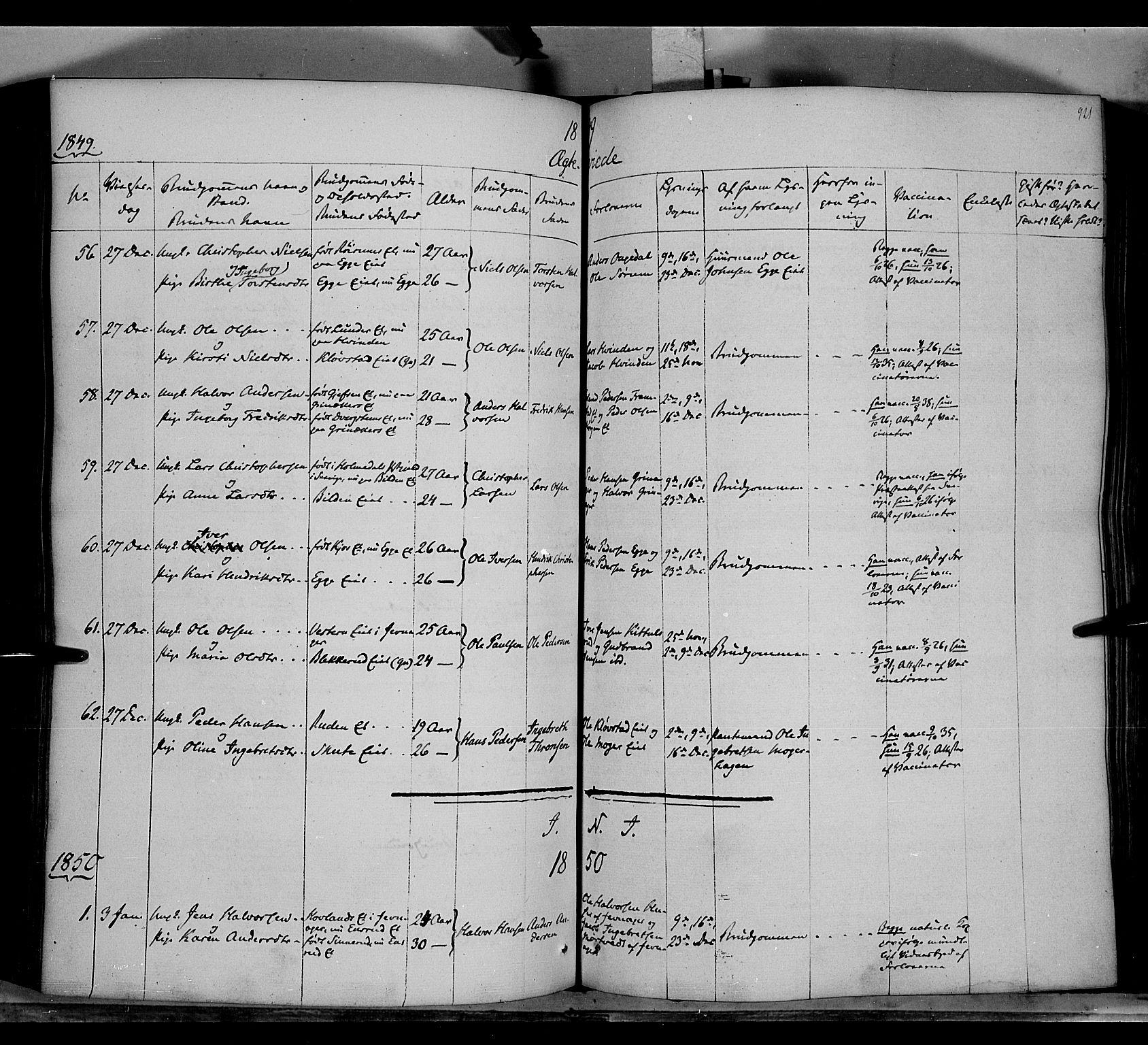 SAH, Gran prestekontor, Ministerialbok nr. 11, 1842-1856, s. 920-921