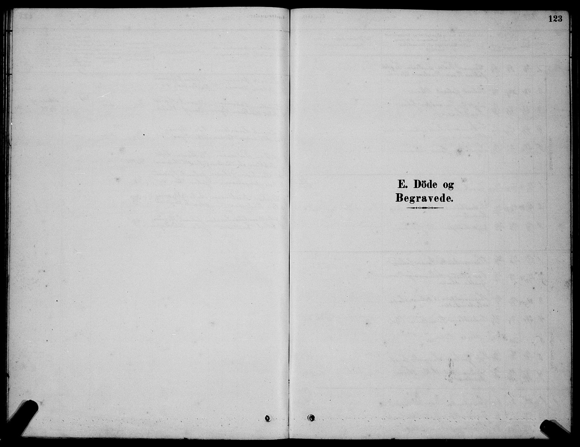 SAT, Ministerialprotokoller, klokkerbøker og fødselsregistre - Sør-Trøndelag, 654/L0665: Klokkerbok nr. 654C01, 1879-1901, s. 123