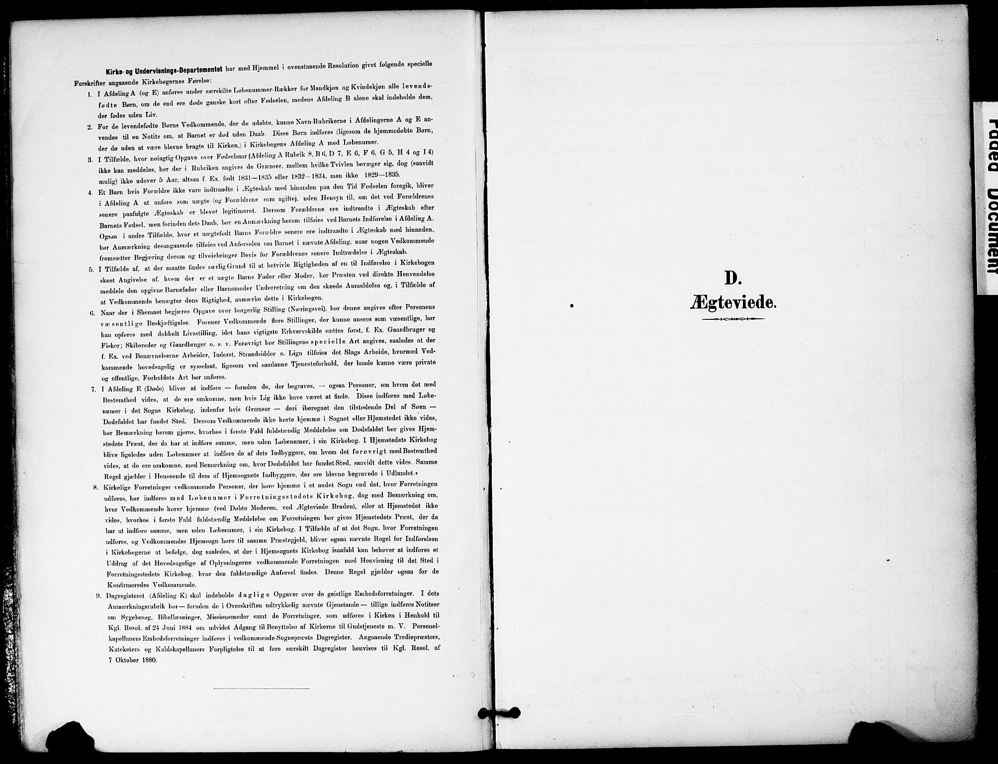 SAKO, Hurum kirkebøker, G/Ga/L0003: Klokkerbok nr. I 3, 1893-1910