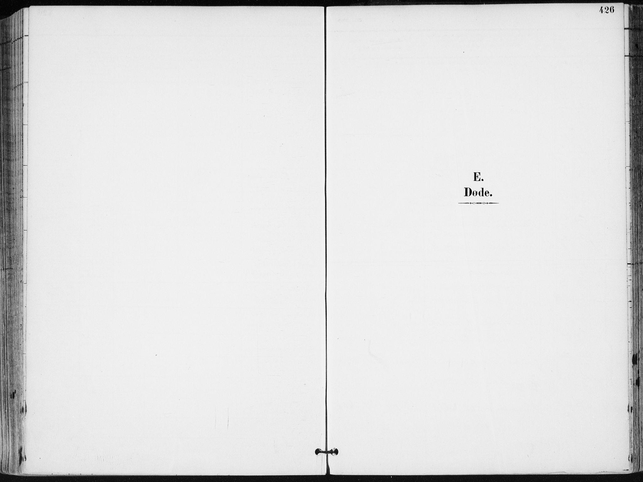 SAK, Kristiansand domprosti, F/Fa/L0019: Ministerialbok nr. A 18, 1890-1897, s. 426