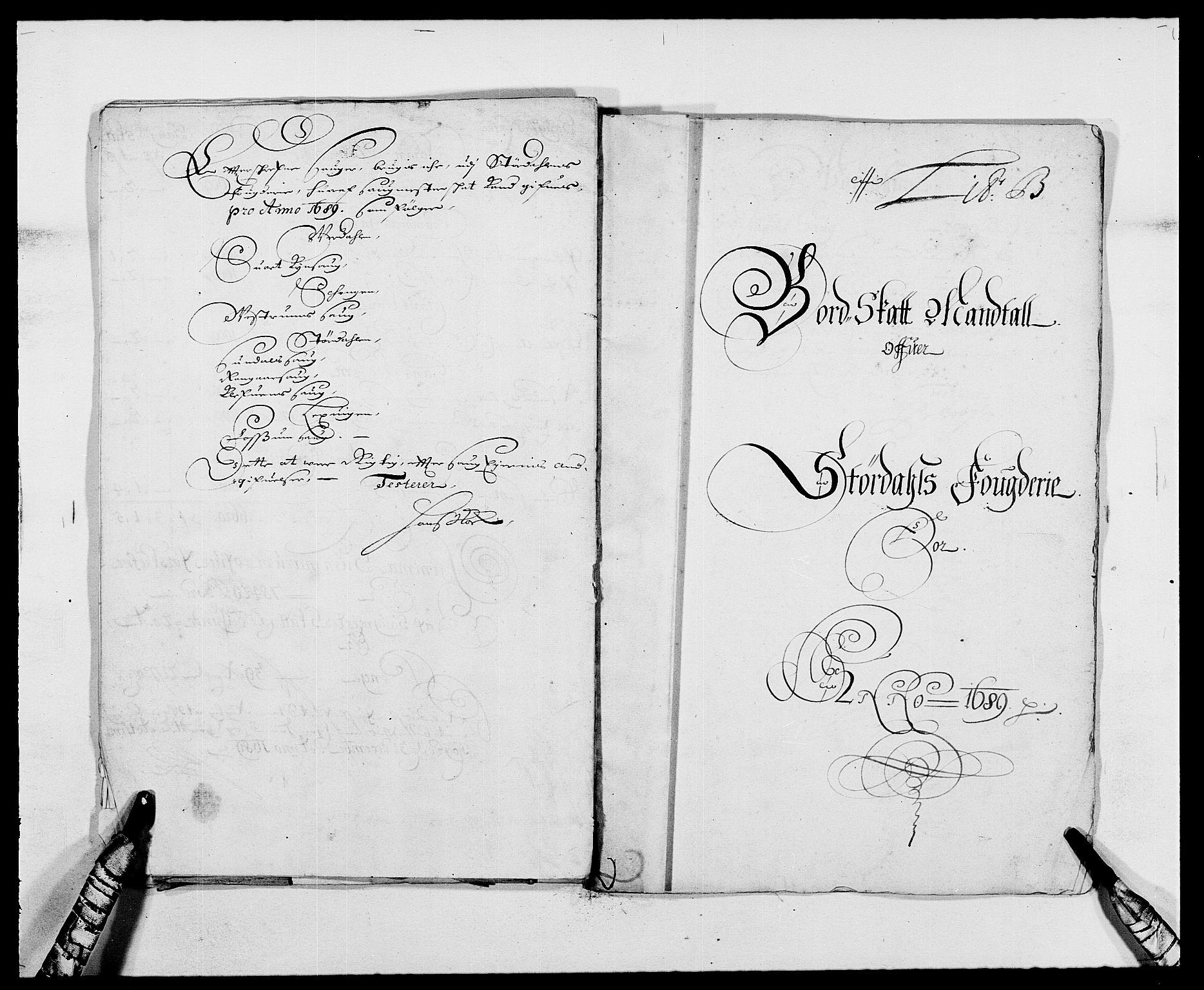 RA, Rentekammeret inntil 1814, Reviderte regnskaper, Fogderegnskap, R62/L4183: Fogderegnskap Stjørdal og Verdal, 1687-1689, s. 313
