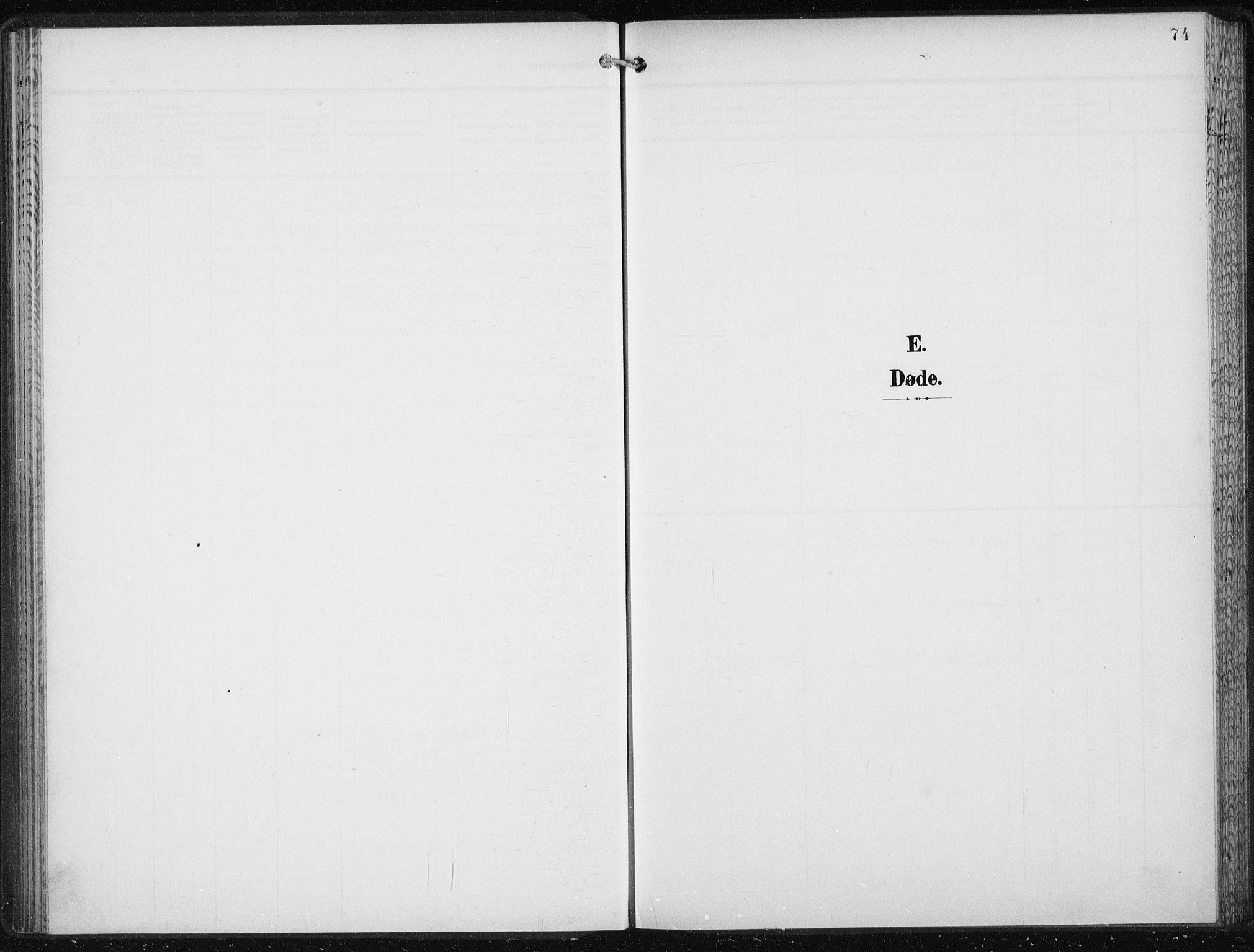 SAB, Den Norske Sjømannsmisjon i utlandet*, Ministerialbok nr. A 6, 1909-1914, s. 74