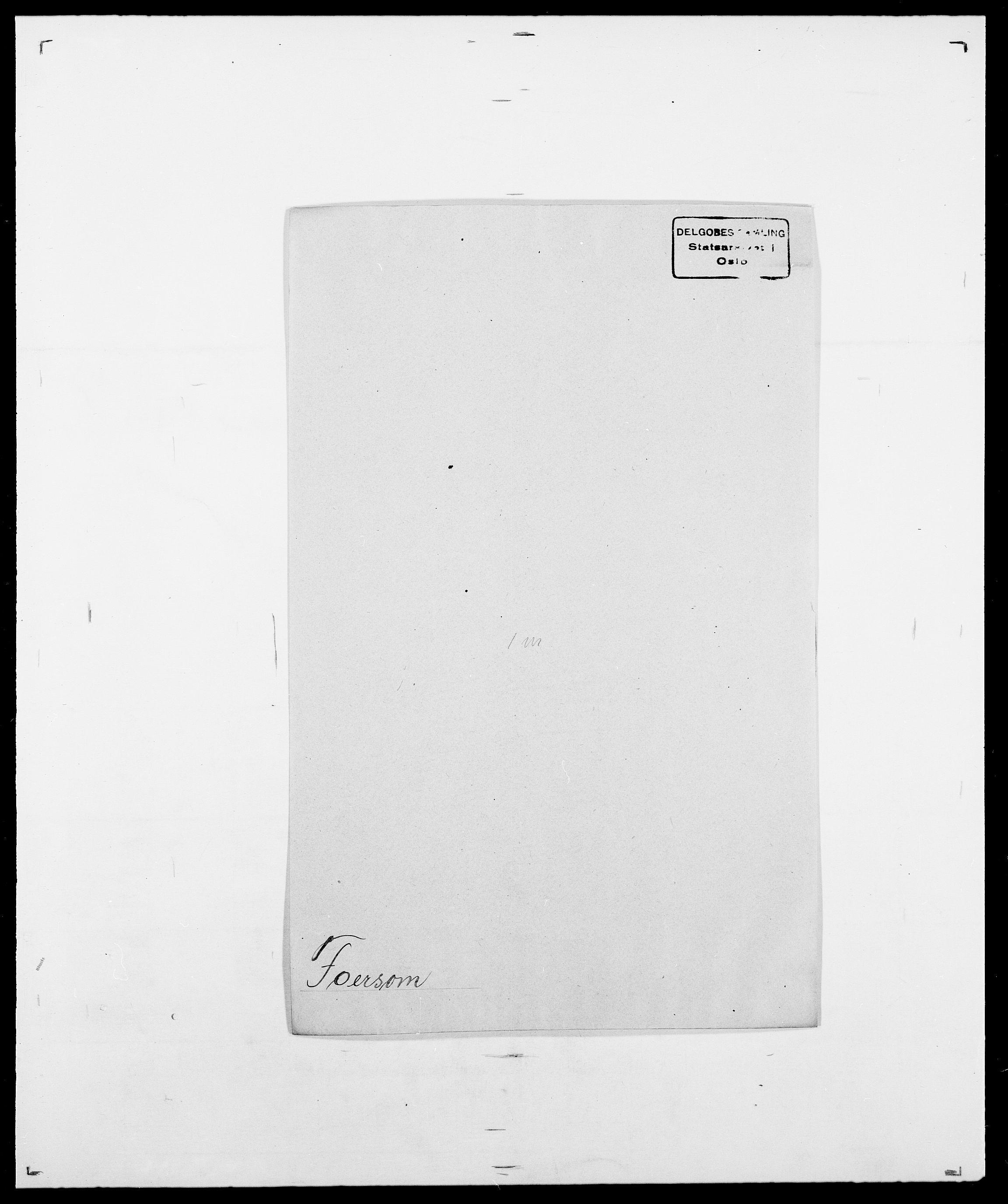 SAO, Delgobe, Charles Antoine - samling, D/Da/L0012: Flor, Floer, Flohr - Fritzner, s. 506