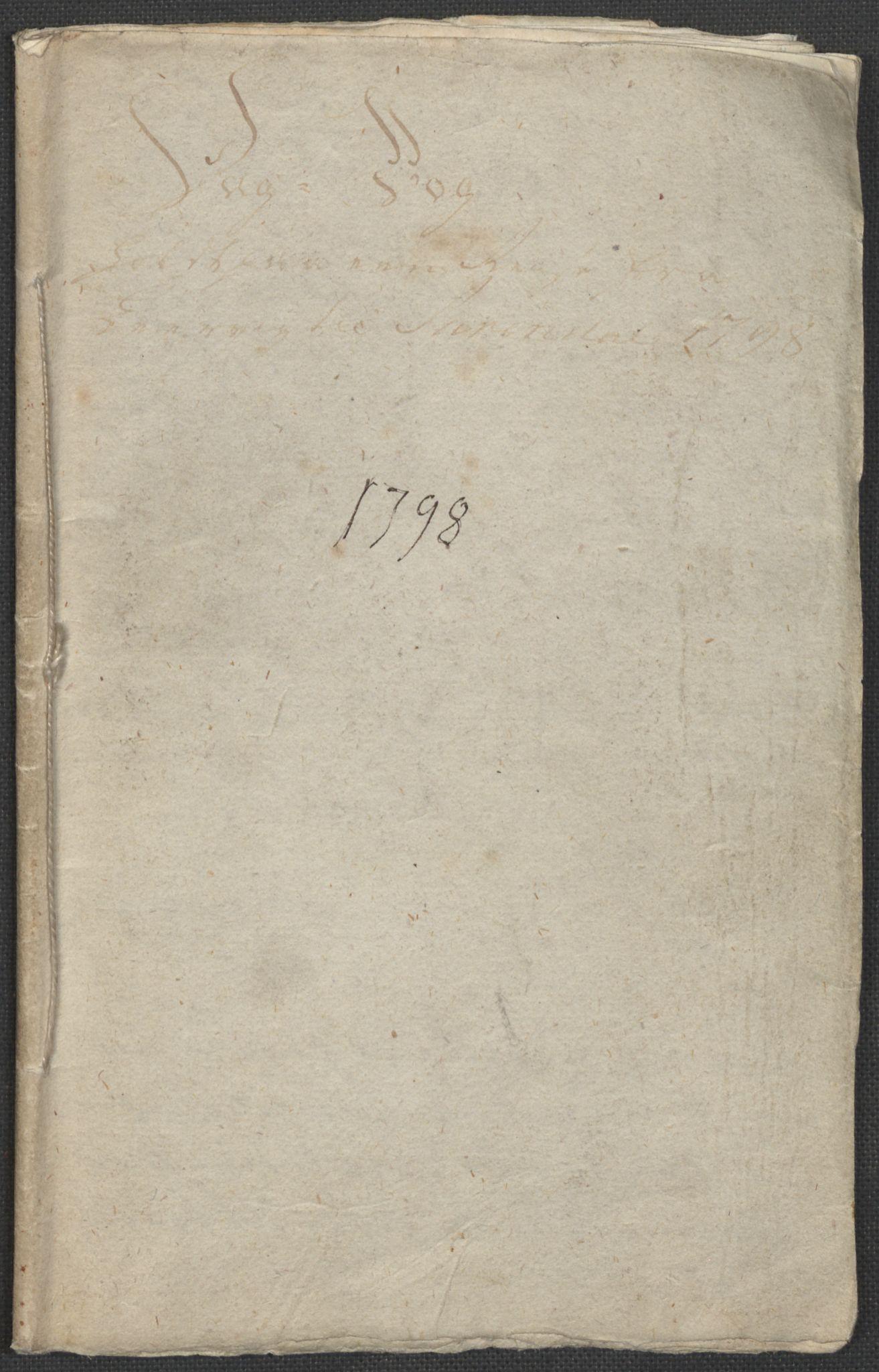 RA, Holck, Meidell, Hartvig, F/L0001: (Kassett) Dagbøker ført av Ole Elias v.Holck, 1798-1842, s. 2