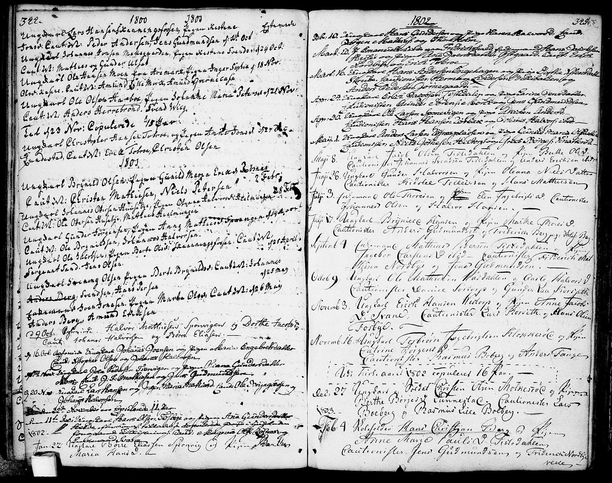 SAO, Berg prestekontor Kirkebøker, F/Fa/L0001: Ministerialbok nr. I 1, 1770-1814, s. 344-345