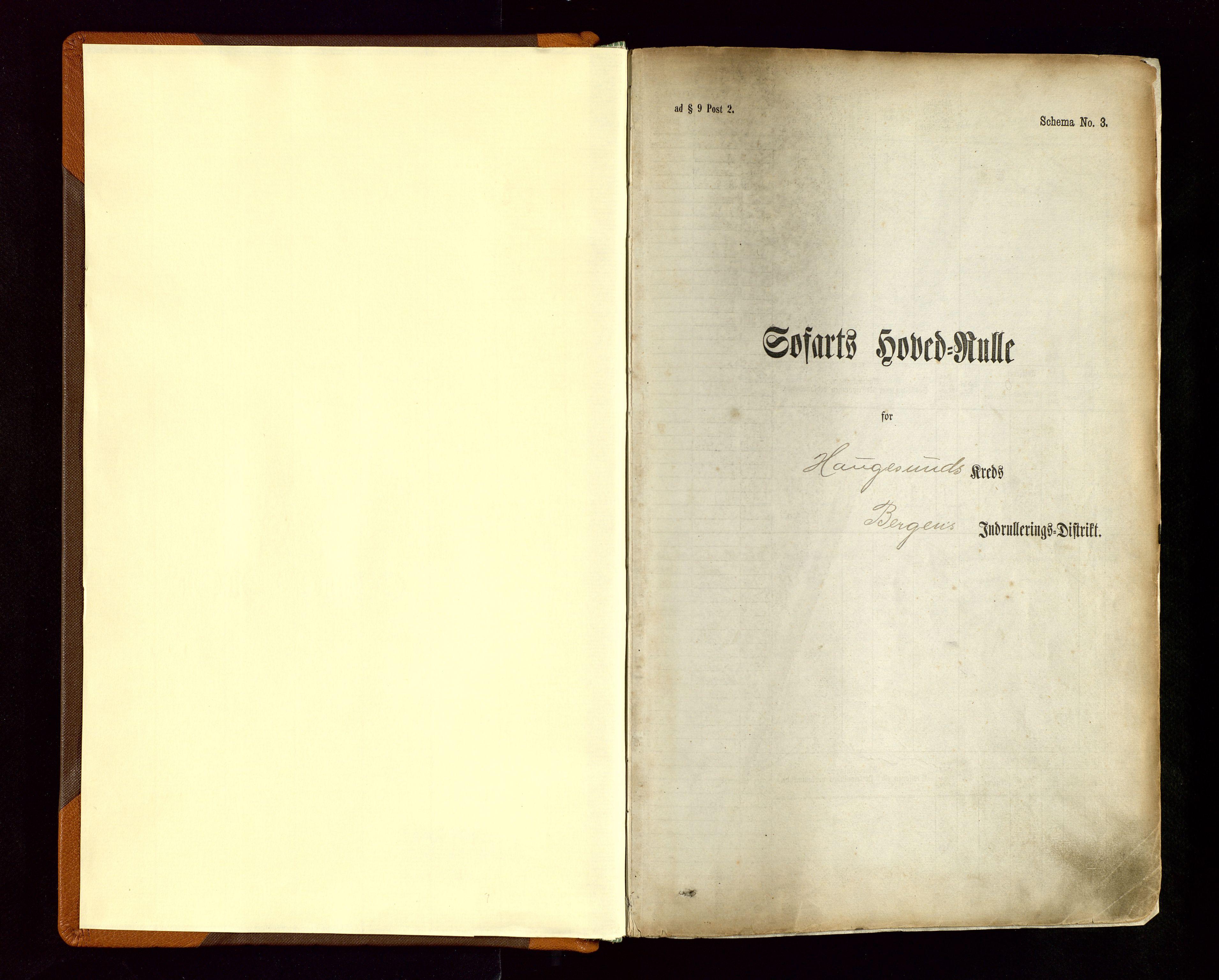 SAST, Haugesund sjømannskontor, F/Fb/Fbb/L0004: Sjøfartsrulle Haugesund krets nr. 1-1922, 1868-1948