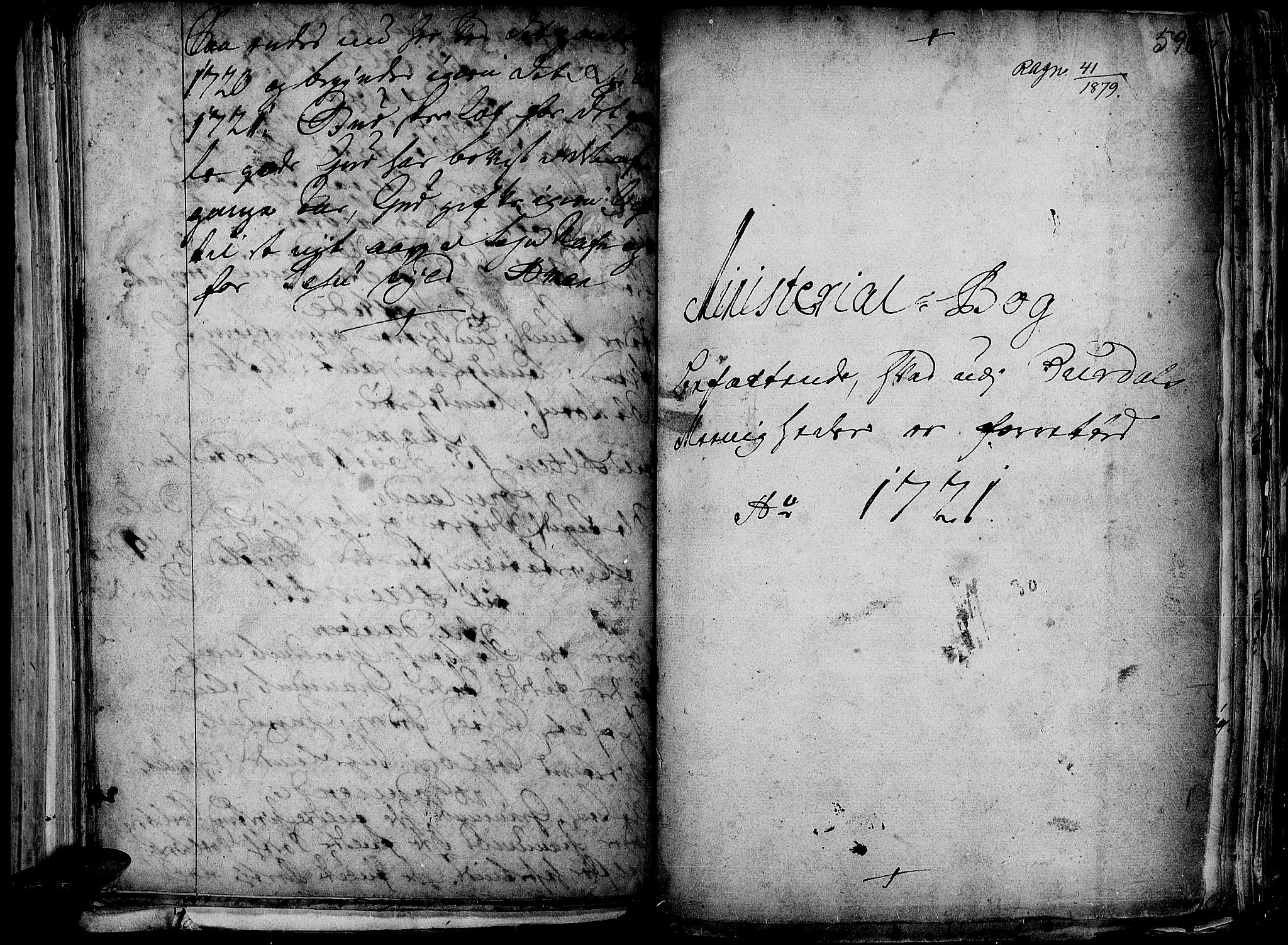 SAH, Aurdal prestekontor, Ministerialbok nr. 1-3, 1692-1730, s. 596