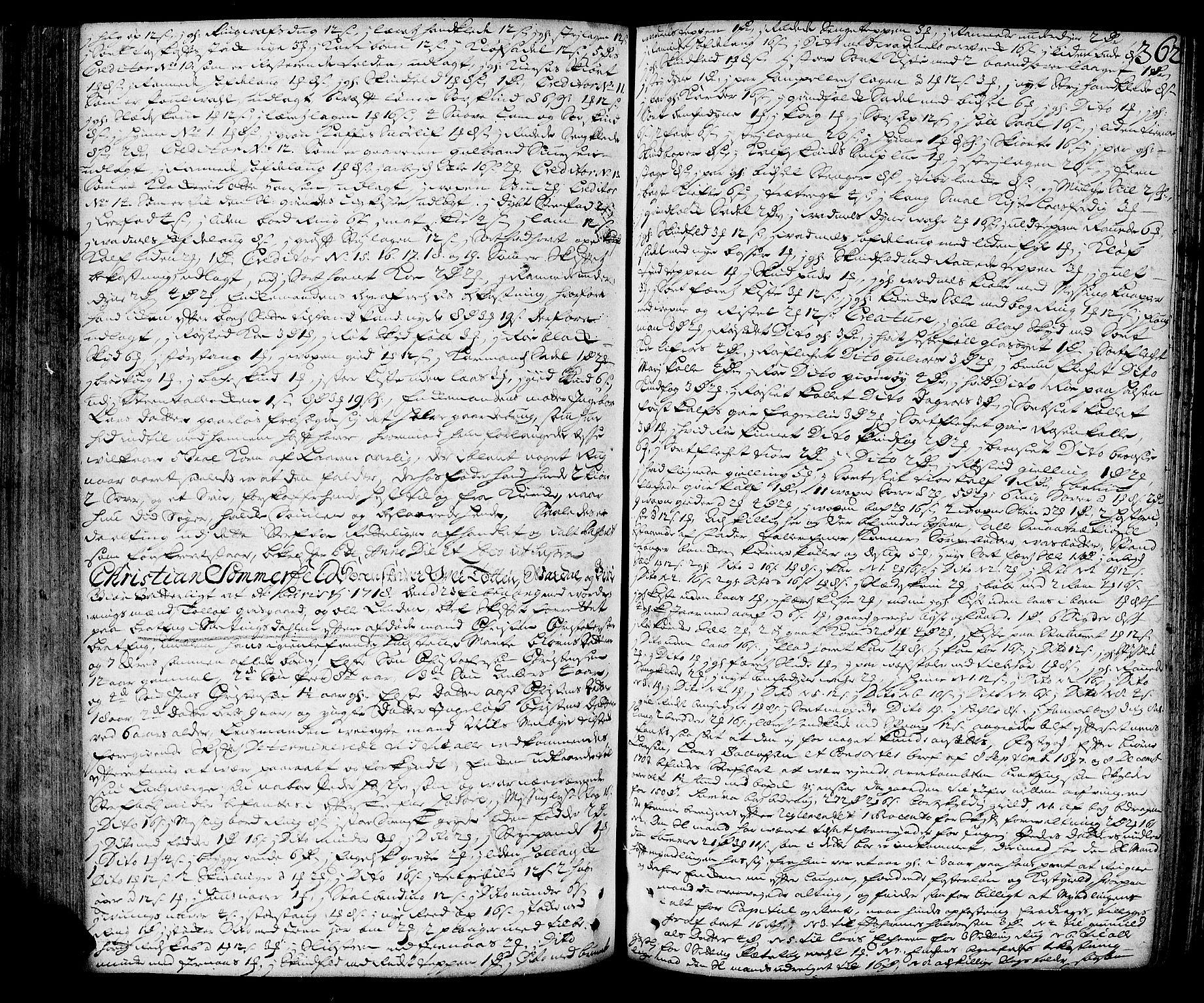 SAH, Toten tingrett, J/Ja/L0006: Skifteprotokoll, 1706-1722, s. 361b-362a