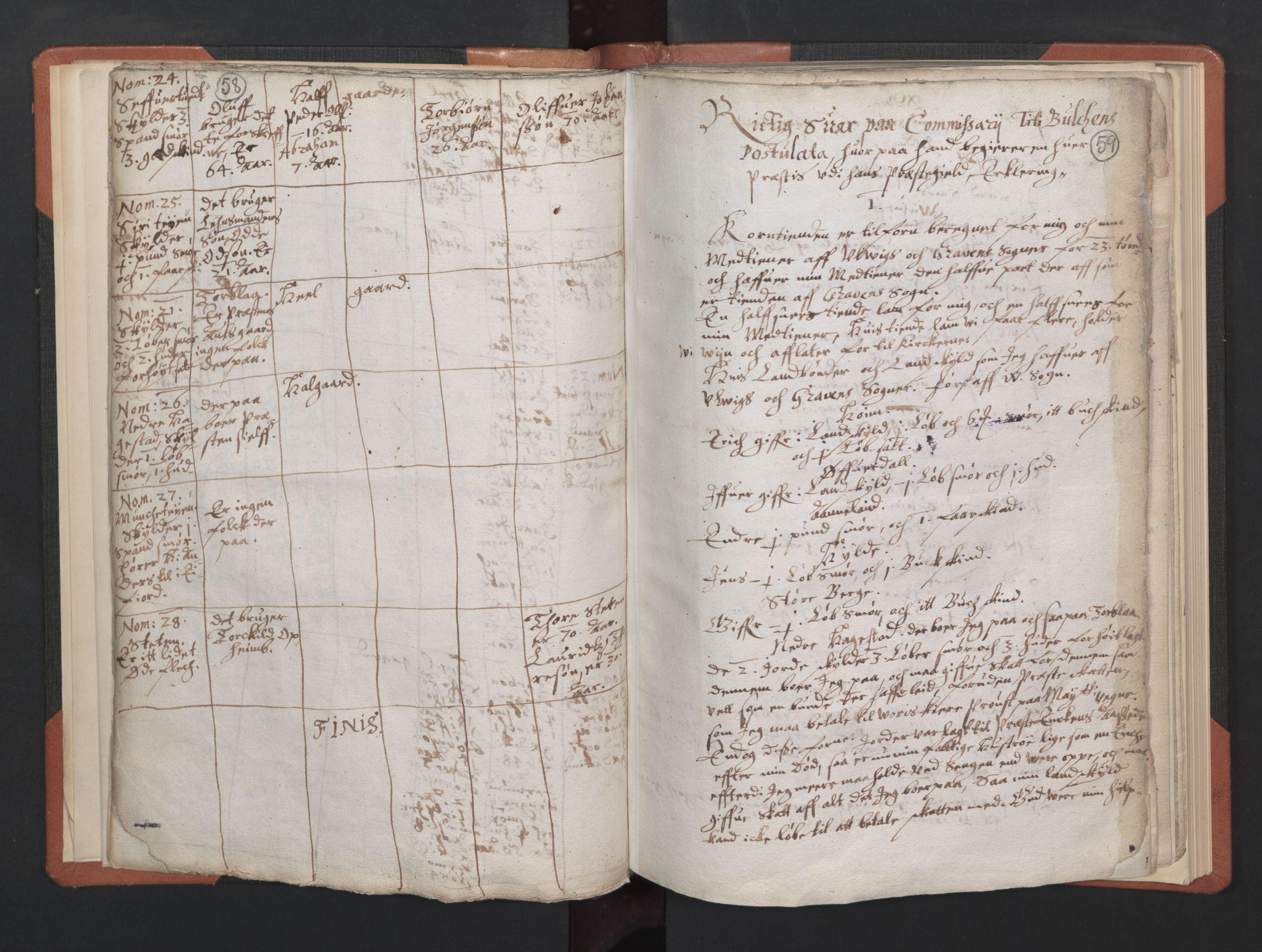 RA, Sogneprestenes manntall 1664-1666, nr. 21: Hardanger prosti, 1664-1666, s. 58-59