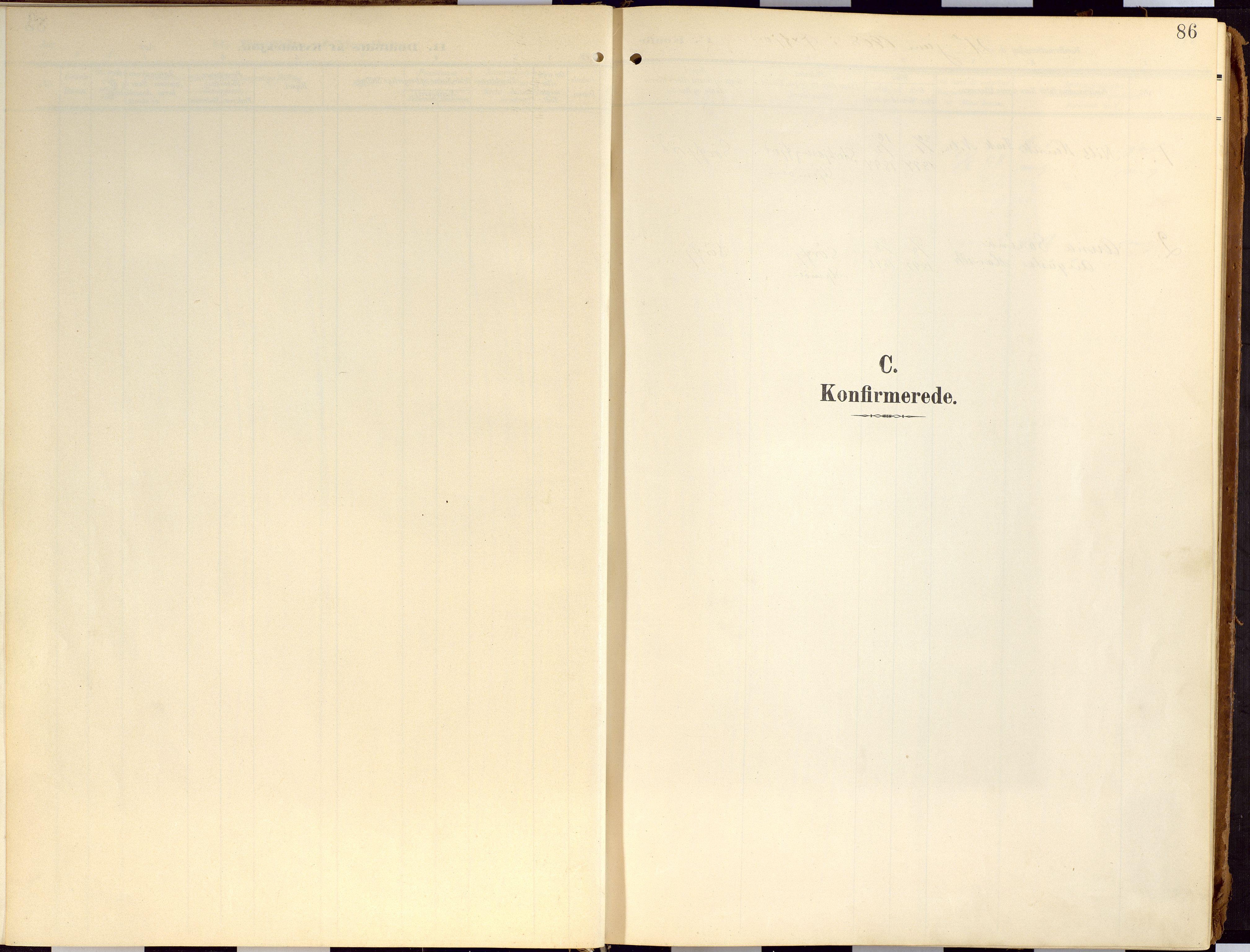 SATØ, Loppa sokneprestkontor, H/Ha/L0010kirke: Ministerialbok nr. 10, 1907-1922, s. 86