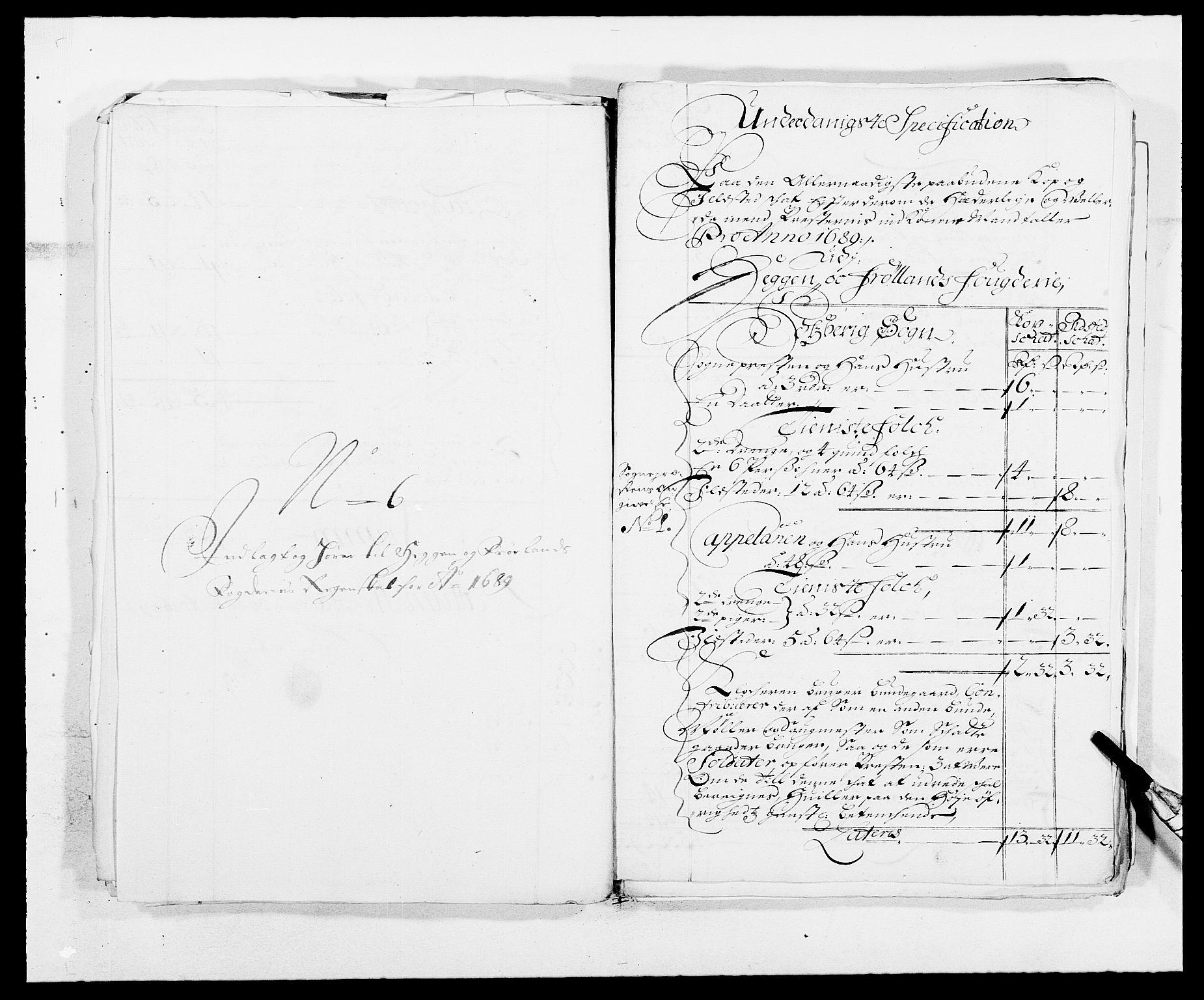 RA, Rentekammeret inntil 1814, Reviderte regnskaper, Fogderegnskap, R06/L0282: Fogderegnskap Heggen og Frøland, 1687-1690, s. 166
