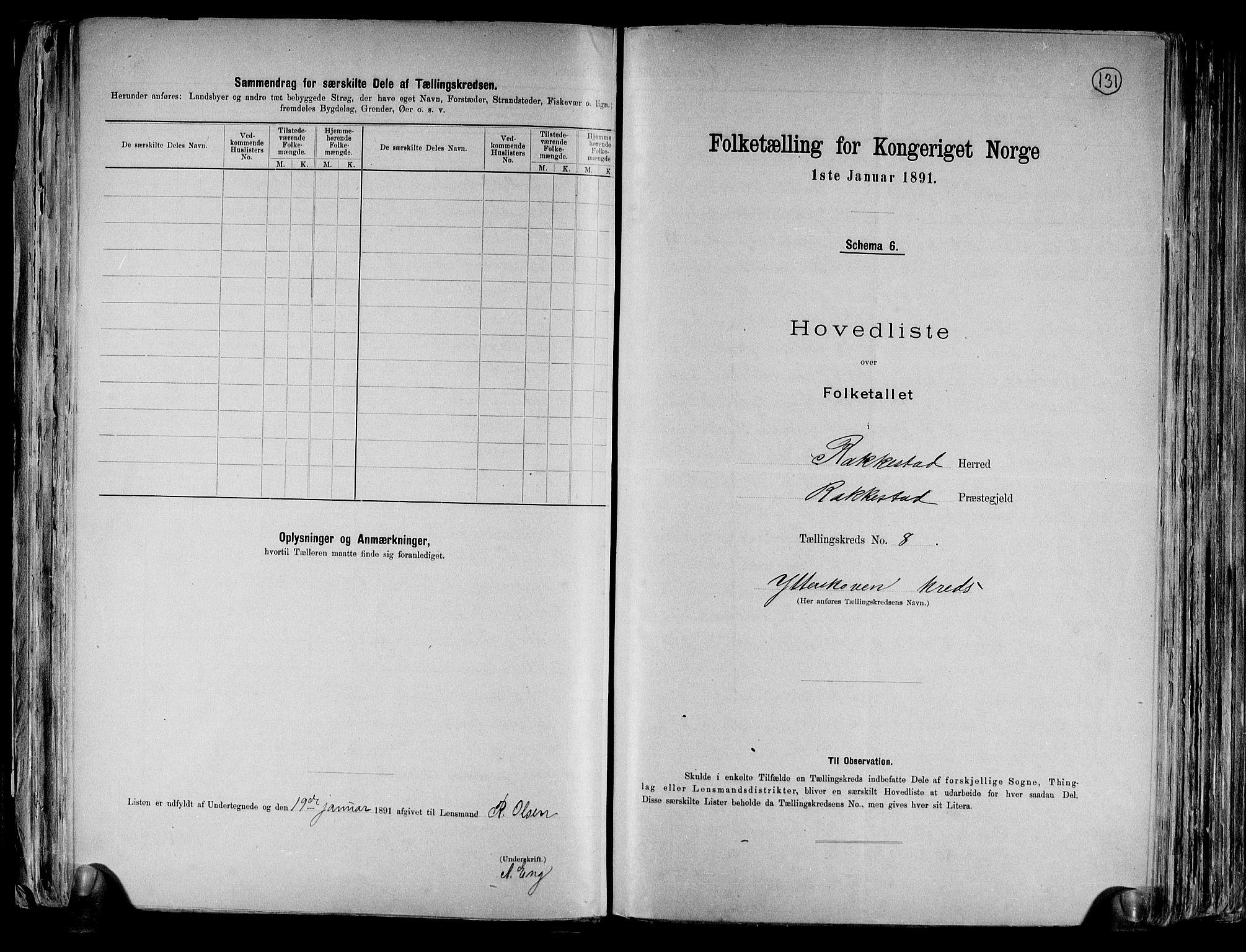 RA, Folketelling 1891 for 0128 Rakkestad herred, 1891, s. 22