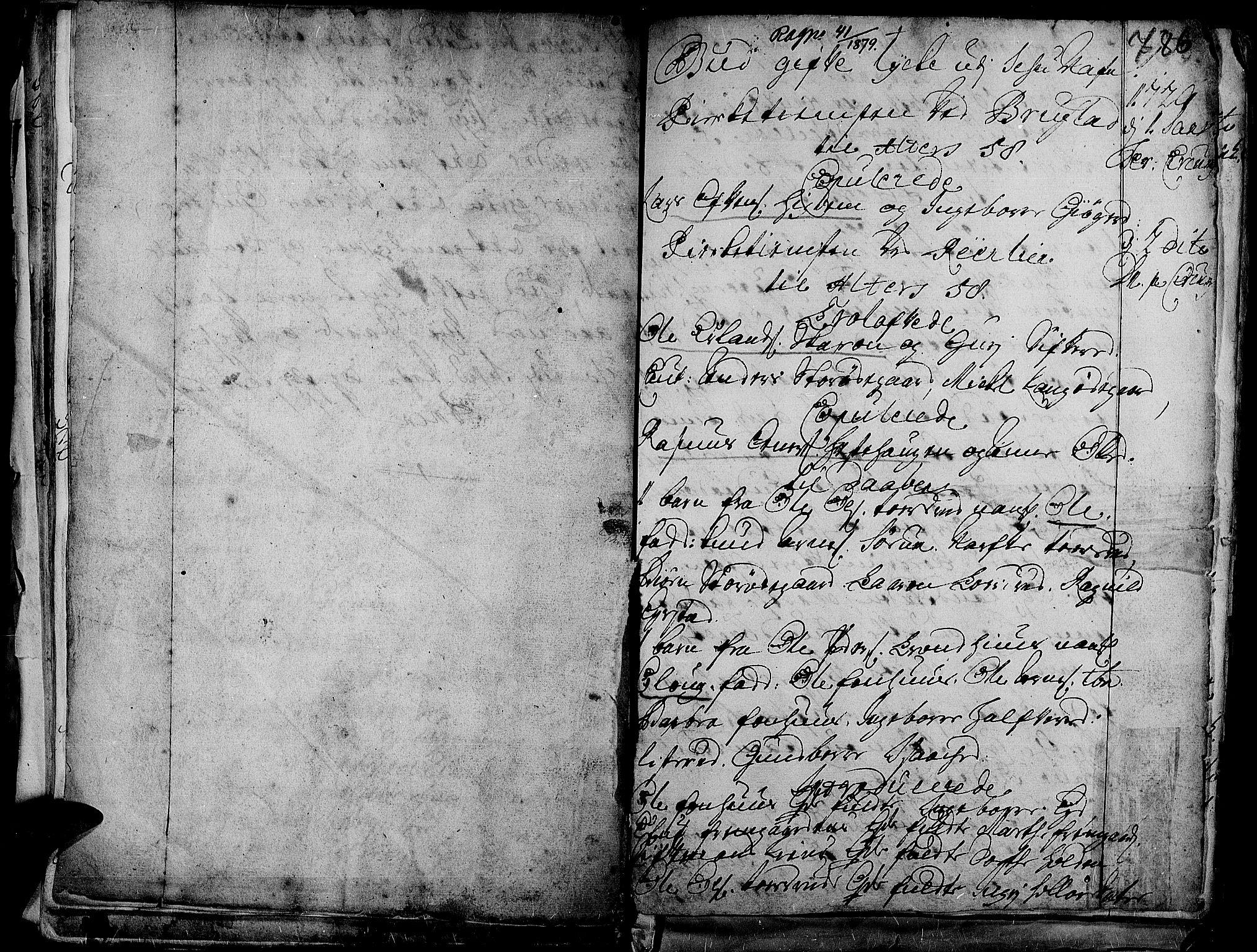 SAH, Aurdal prestekontor, Ministerialbok nr. 1-3, 1692-1730, s. 786