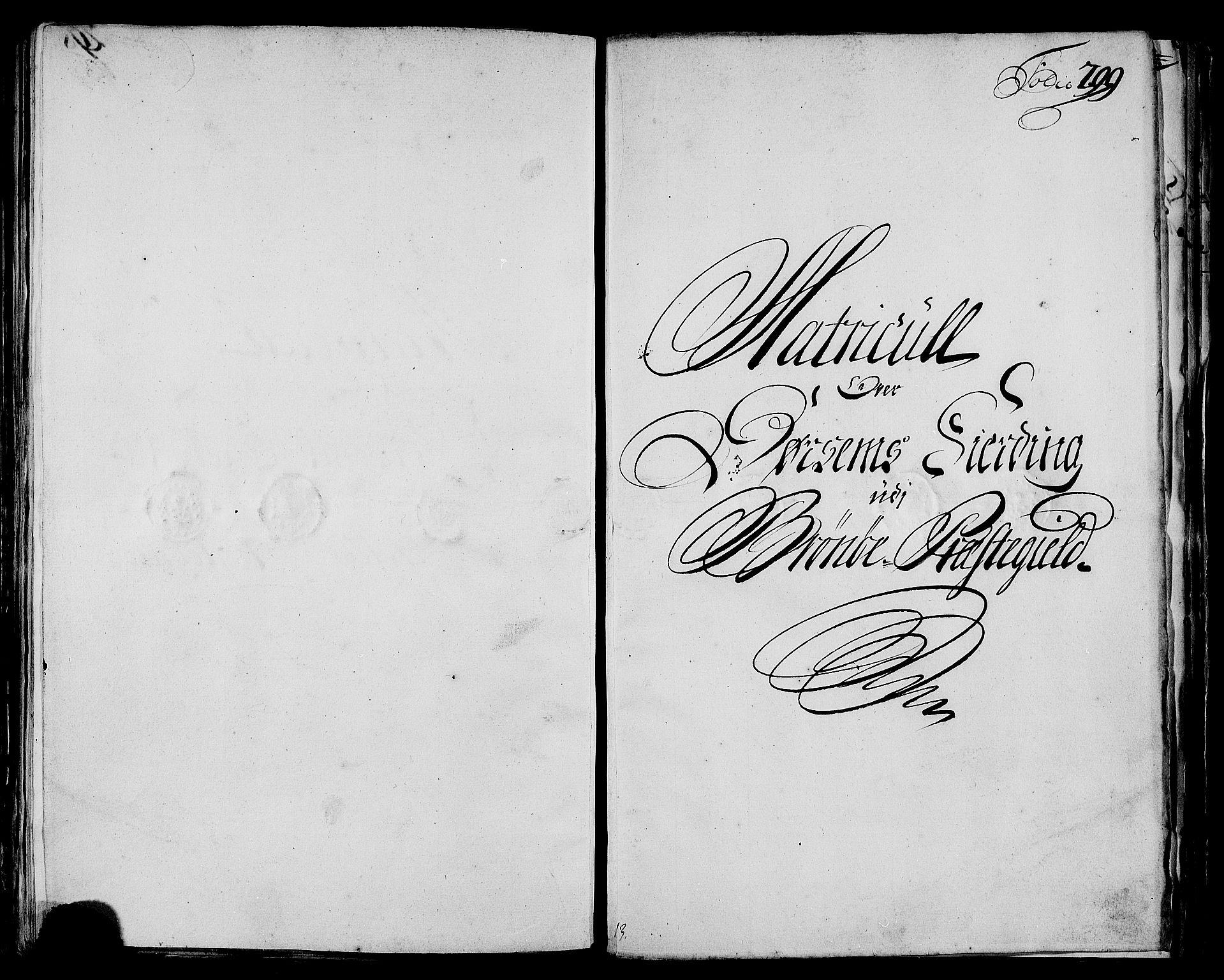 RA, Rentekammeret inntil 1814, Realistisk ordnet avdeling, N/Nb/Nbf/L0171: Helgeland matrikkelprotokoll, 1723, s. 298b-299a