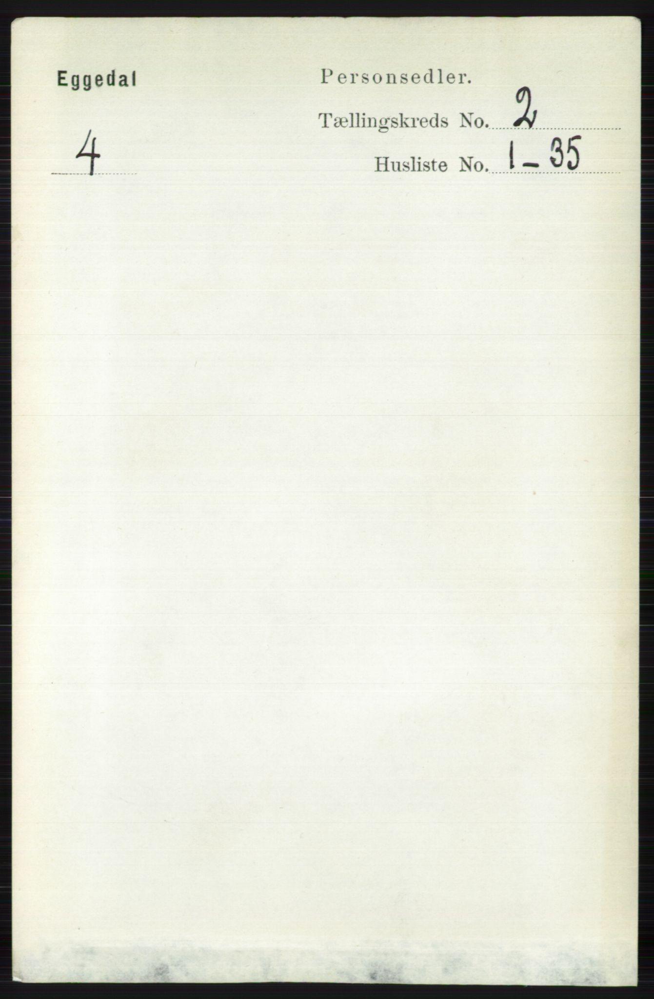 RA, Folketelling 1891 for 0621 Sigdal herred, 1891, s. 3917