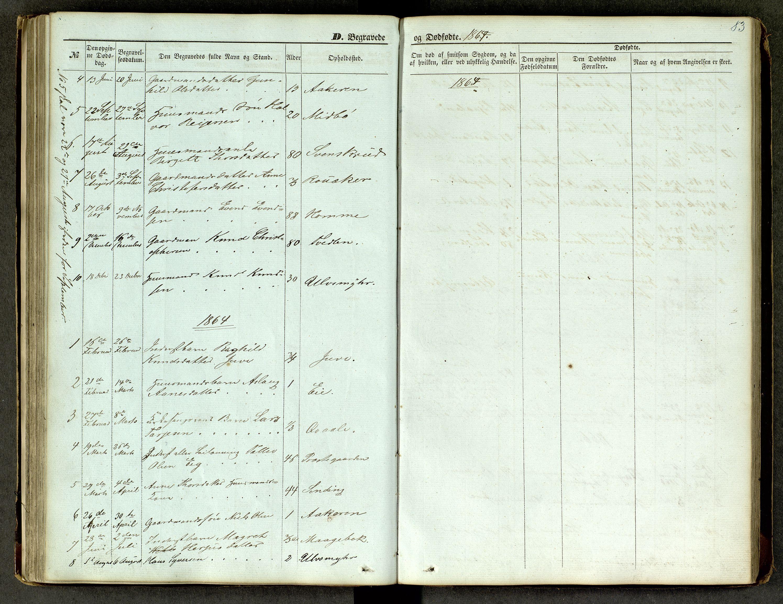 SAKO, Lårdal kirkebøker, G/Ga/L0002: Klokkerbok nr. I 2, 1861-1890, s. 83