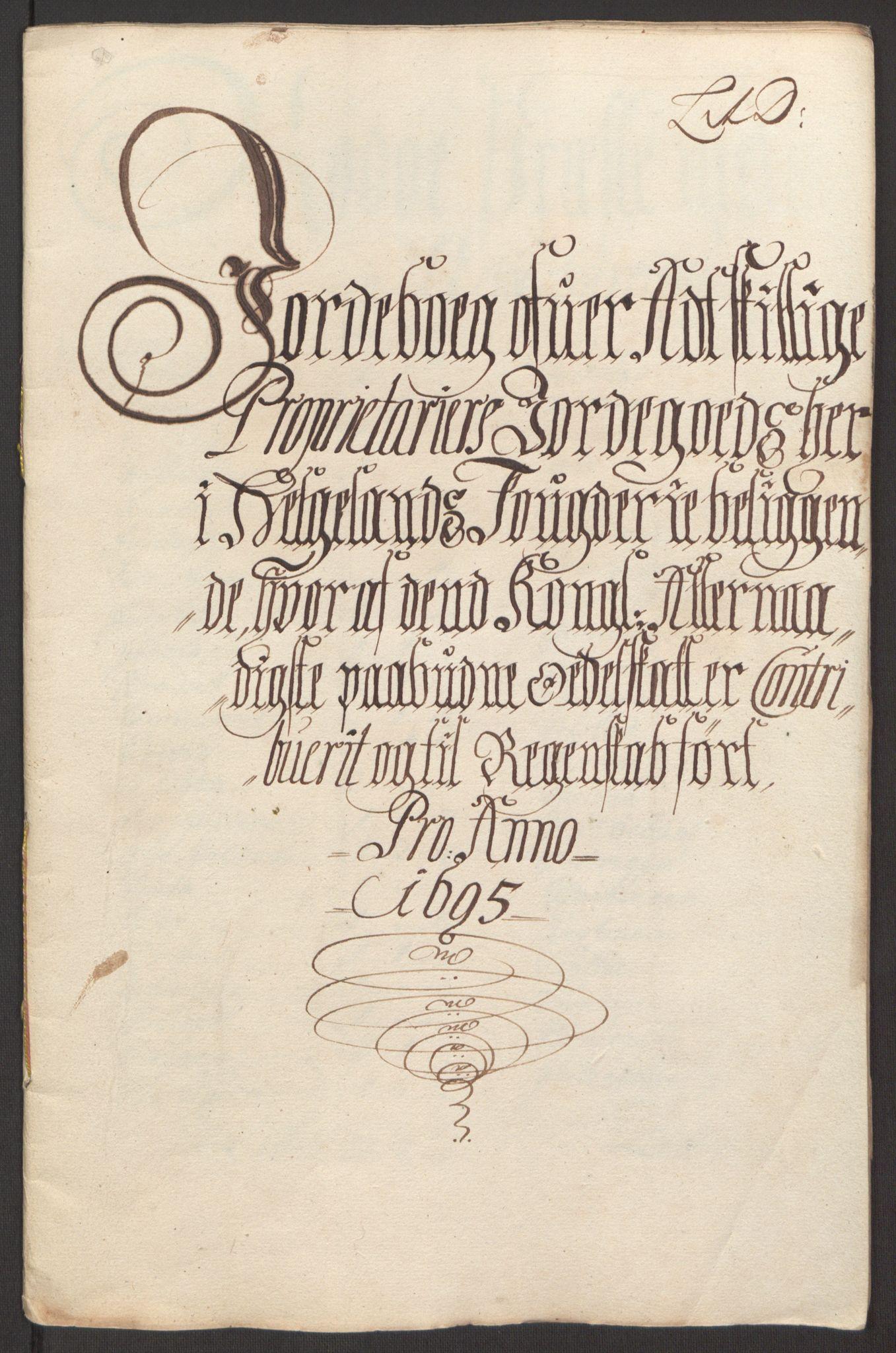 RA, Rentekammeret inntil 1814, Reviderte regnskaper, Fogderegnskap, R65/L4505: Fogderegnskap Helgeland, 1693-1696, s. 362