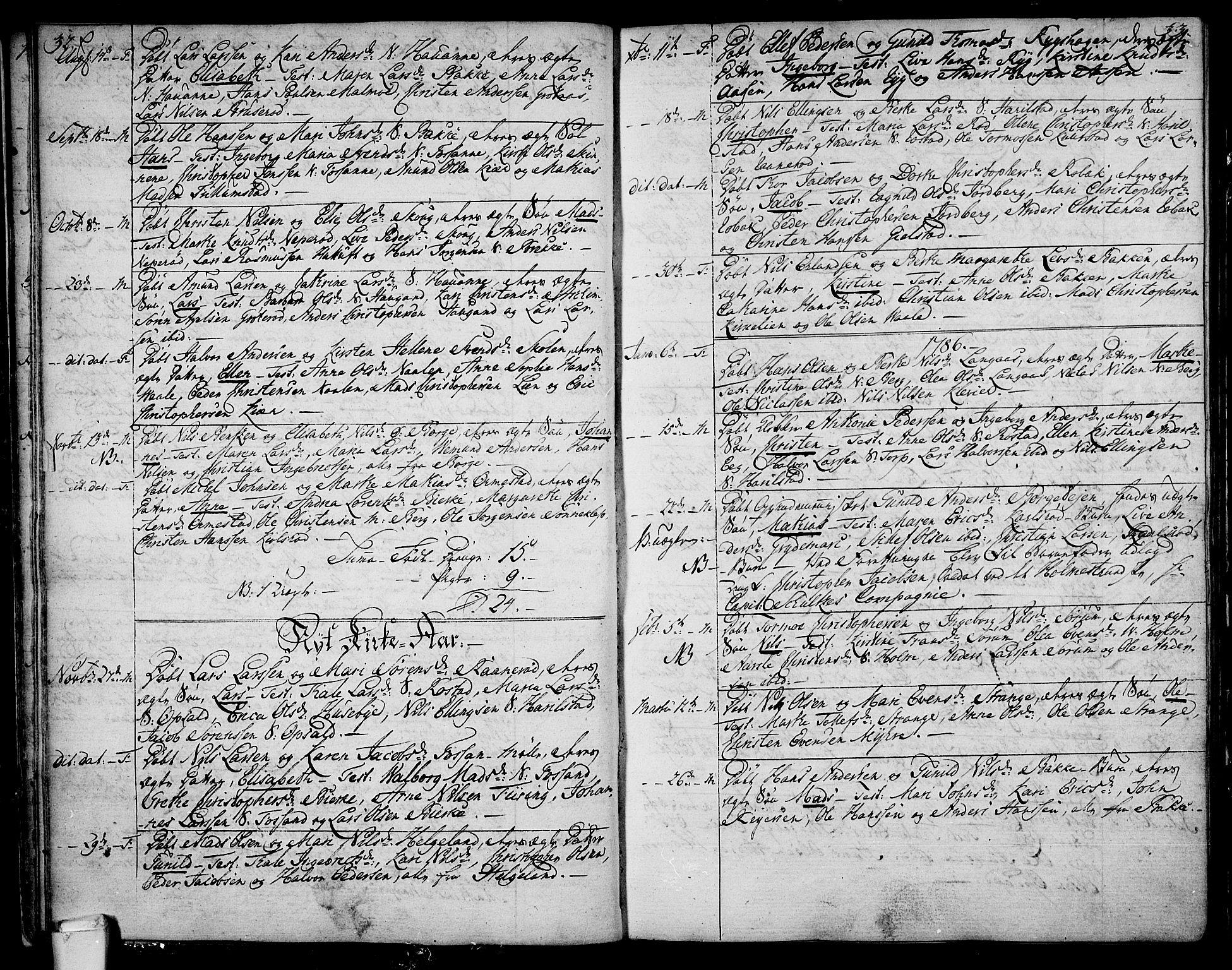SAKO, Våle kirkebøker, F/Fa/L0005: Ministerialbok nr. I 5, 1773-1808, s. 32-33
