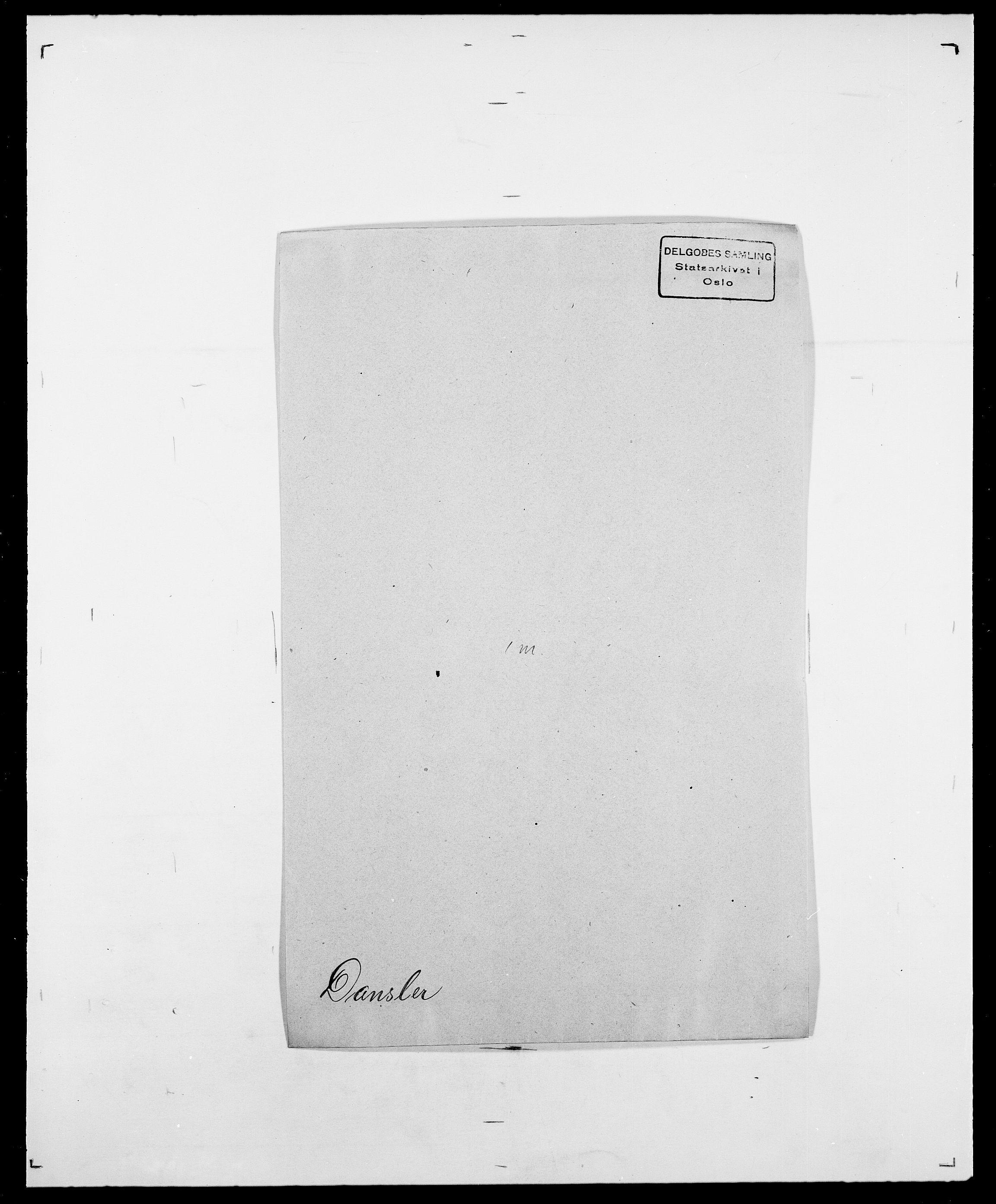 SAO, Delgobe, Charles Antoine - samling, D/Da/L0009: Dahl - v. Düren, s. 330