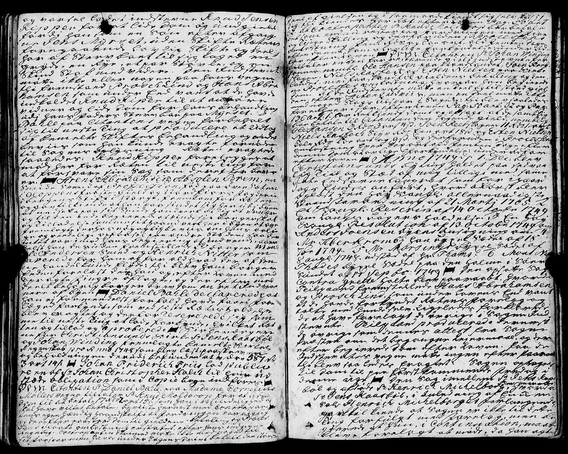 SAT, Kristiansund byfogd*, 1742-1751, s. 151