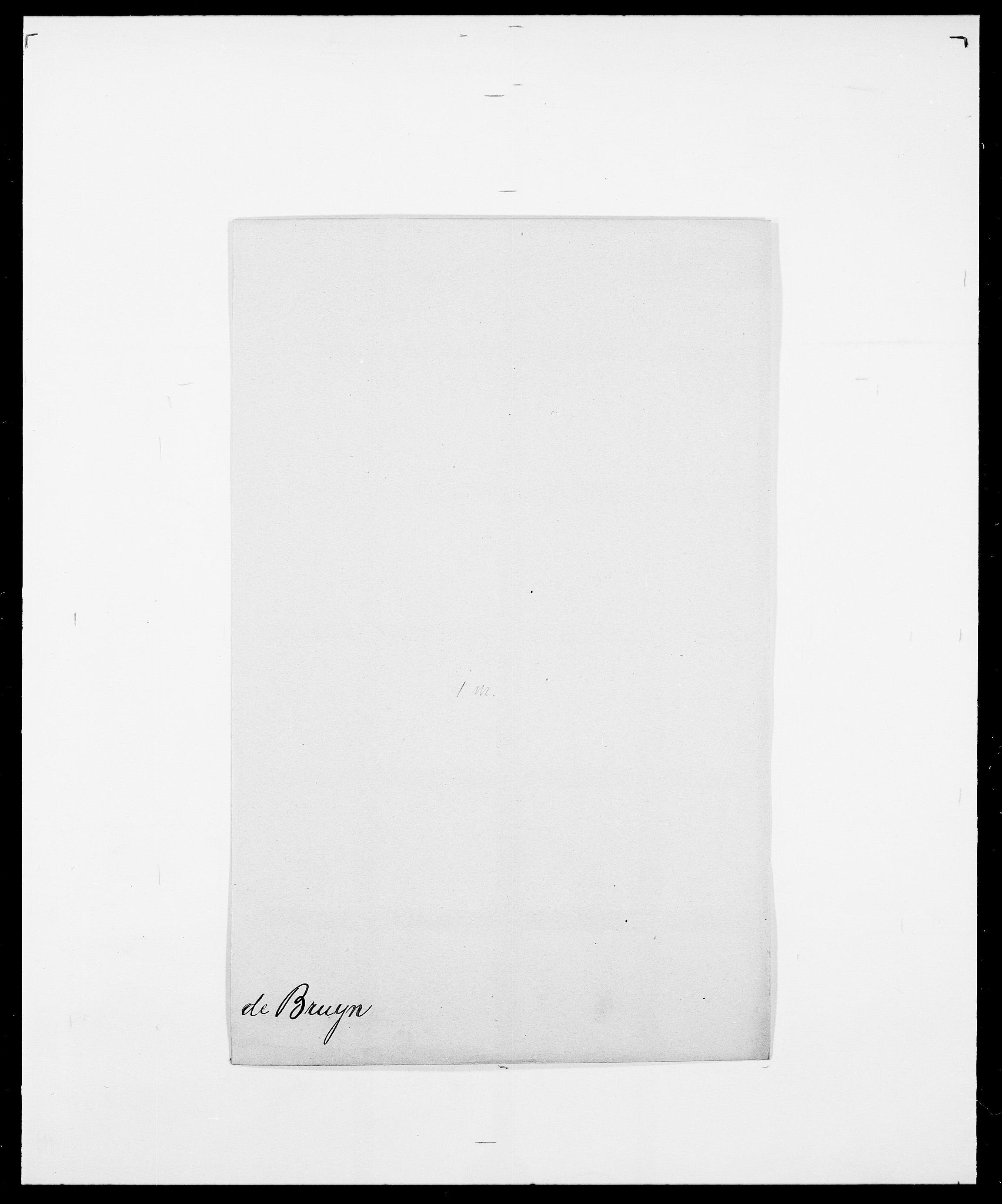 SAO, Delgobe, Charles Antoine - samling, D/Da/L0006: Brambani - Brønø, s. 897