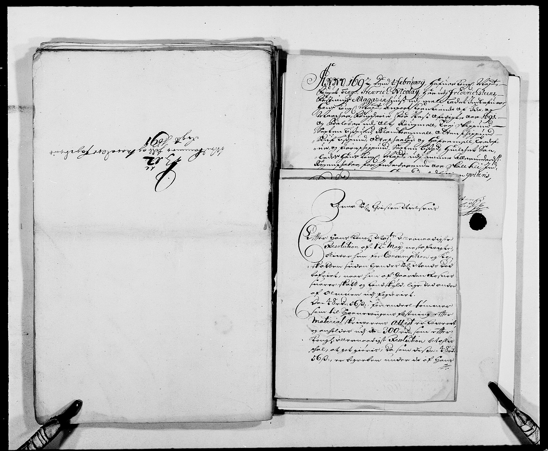 RA, Rentekammeret inntil 1814, Reviderte regnskaper, Fogderegnskap, R01/L0010: Fogderegnskap Idd og Marker, 1690-1691, s. 103