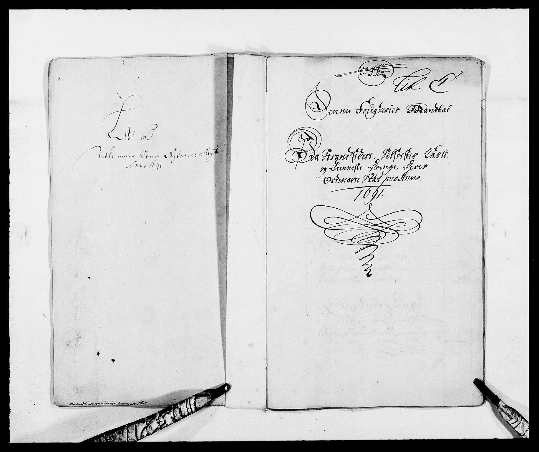 RA, Rentekammeret inntil 1814, Reviderte regnskaper, Fogderegnskap, R68/L4752: Fogderegnskap Senja og Troms, 1691-1693, s. 36