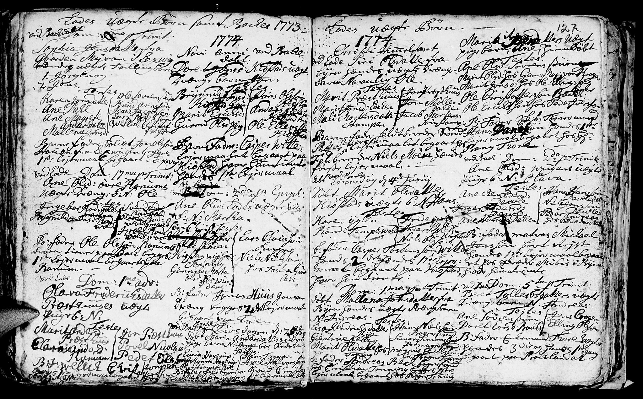 SAT, Ministerialprotokoller, klokkerbøker og fødselsregistre - Sør-Trøndelag, 606/L0305: Klokkerbok nr. 606C01, 1757-1819, s. 127