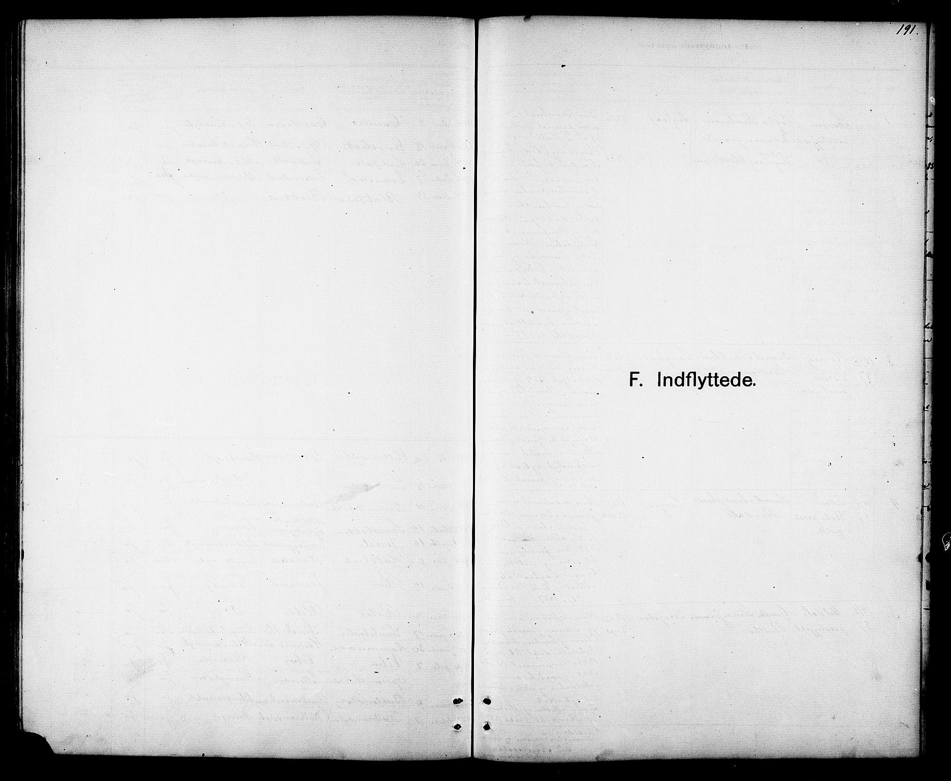 SAT, Ministerialprotokoller, klokkerbøker og fødselsregistre - Sør-Trøndelag, 694/L1132: Klokkerbok nr. 694C04, 1887-1914, s. 191