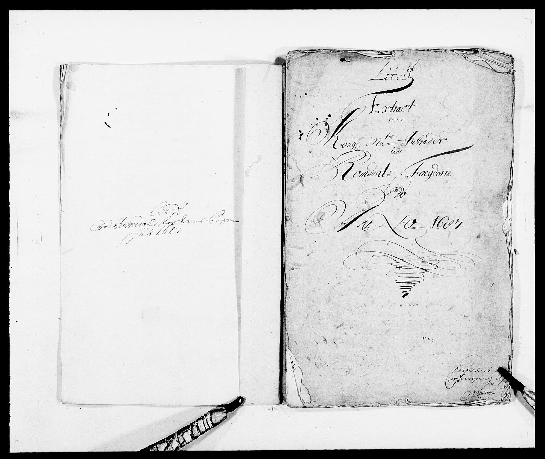 RA, Rentekammeret inntil 1814, Reviderte regnskaper, Fogderegnskap, R55/L3648: Fogderegnskap Romsdal, 1687-1689, s. 110