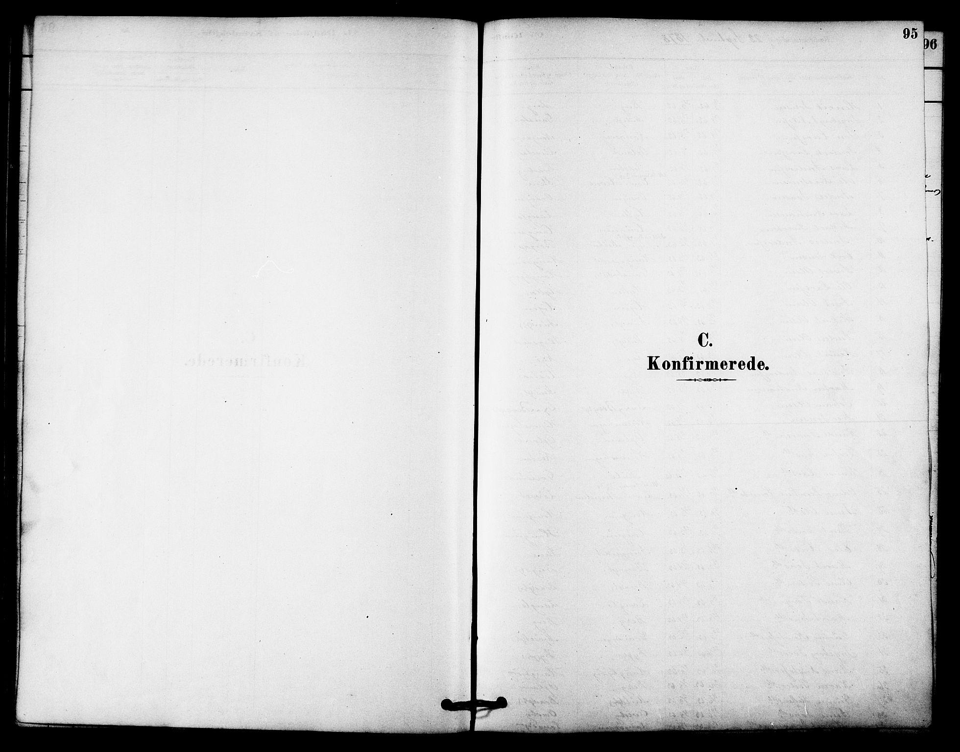 SAT, Ministerialprotokoller, klokkerbøker og fødselsregistre - Sør-Trøndelag, 612/L0378: Ministerialbok nr. 612A10, 1878-1897, s. 95