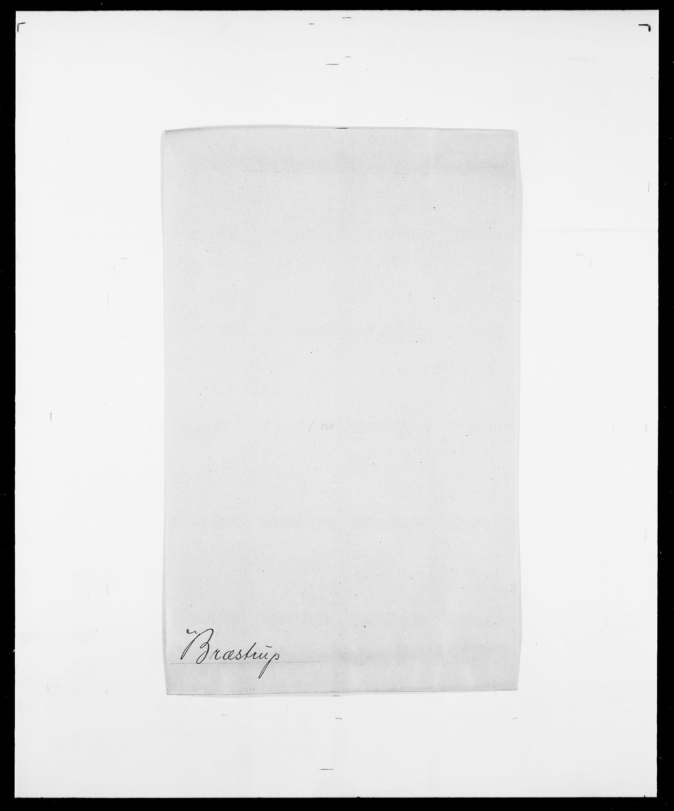 SAO, Delgobe, Charles Antoine - samling, D/Da/L0006: Brambani - Brønø, s. 931