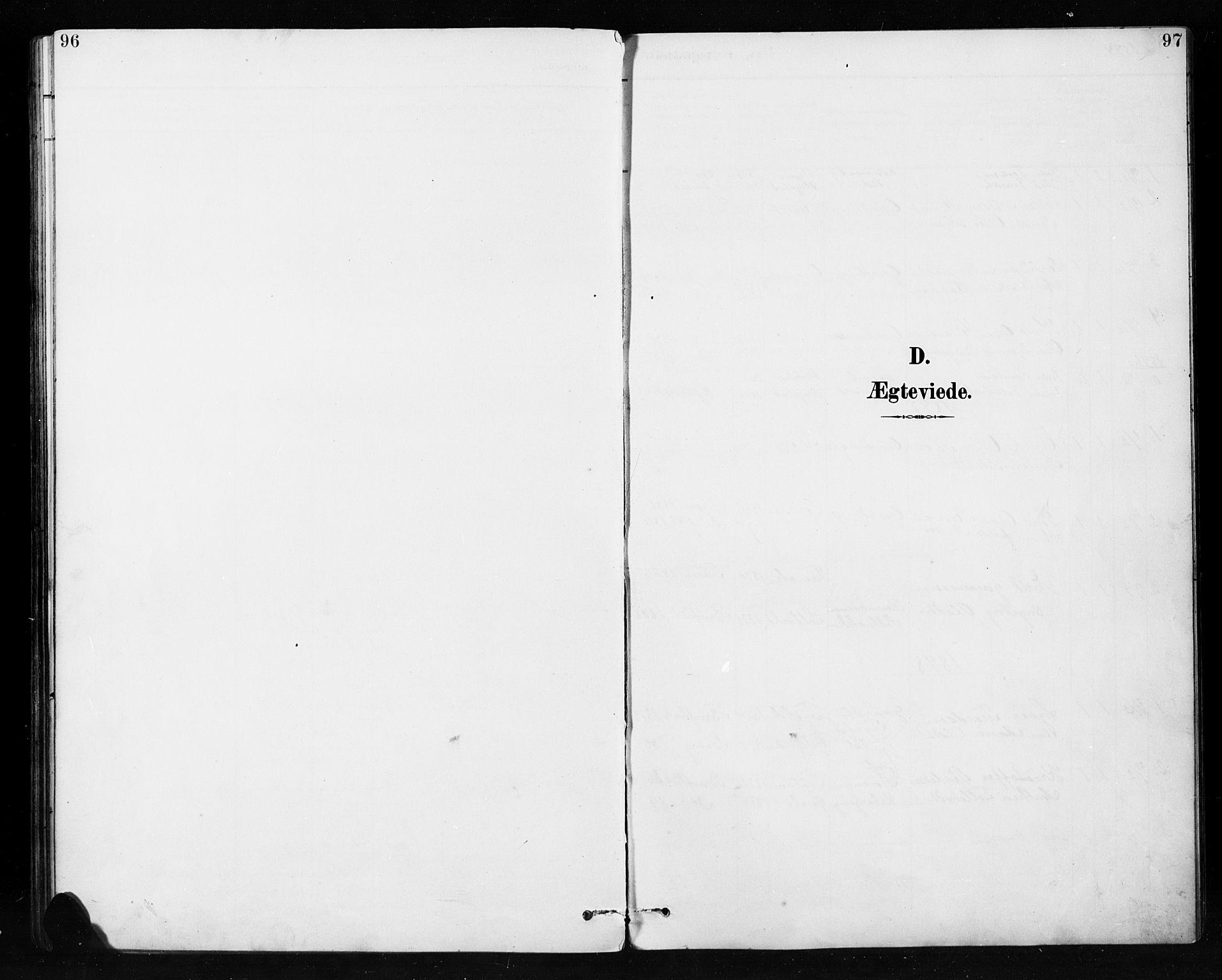 SAH, Etnedal prestekontor, H/Ha/Hab/Habb/L0001: Klokkerbok nr. II 1, 1894-1911, s. 96-97