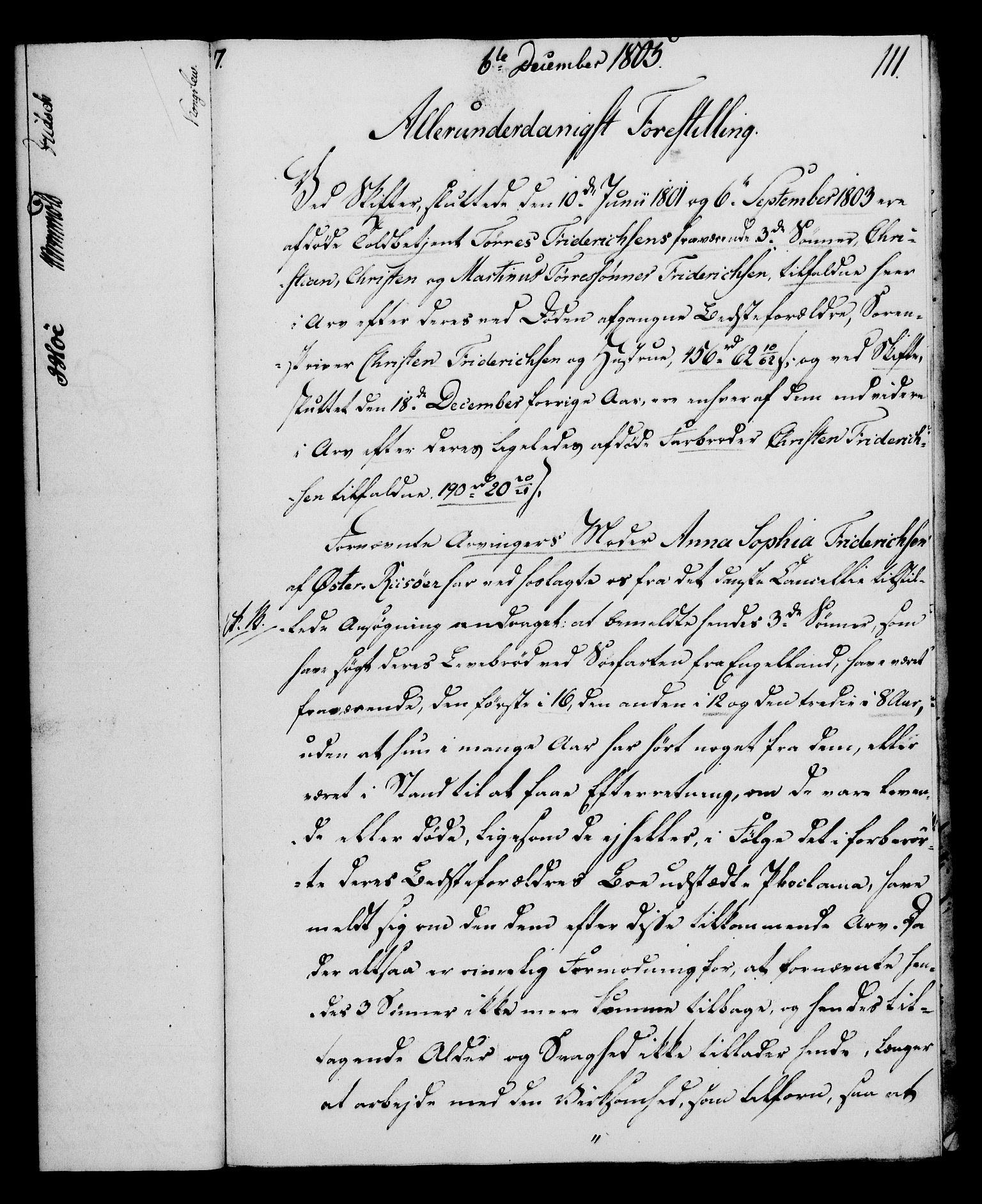 RA, Rentekammeret, Kammerkanselliet, G/Gf/Gfa/L0087: Norsk relasjons- og resolusjonsprotokoll (merket RK 52.87), 1805, s. 619