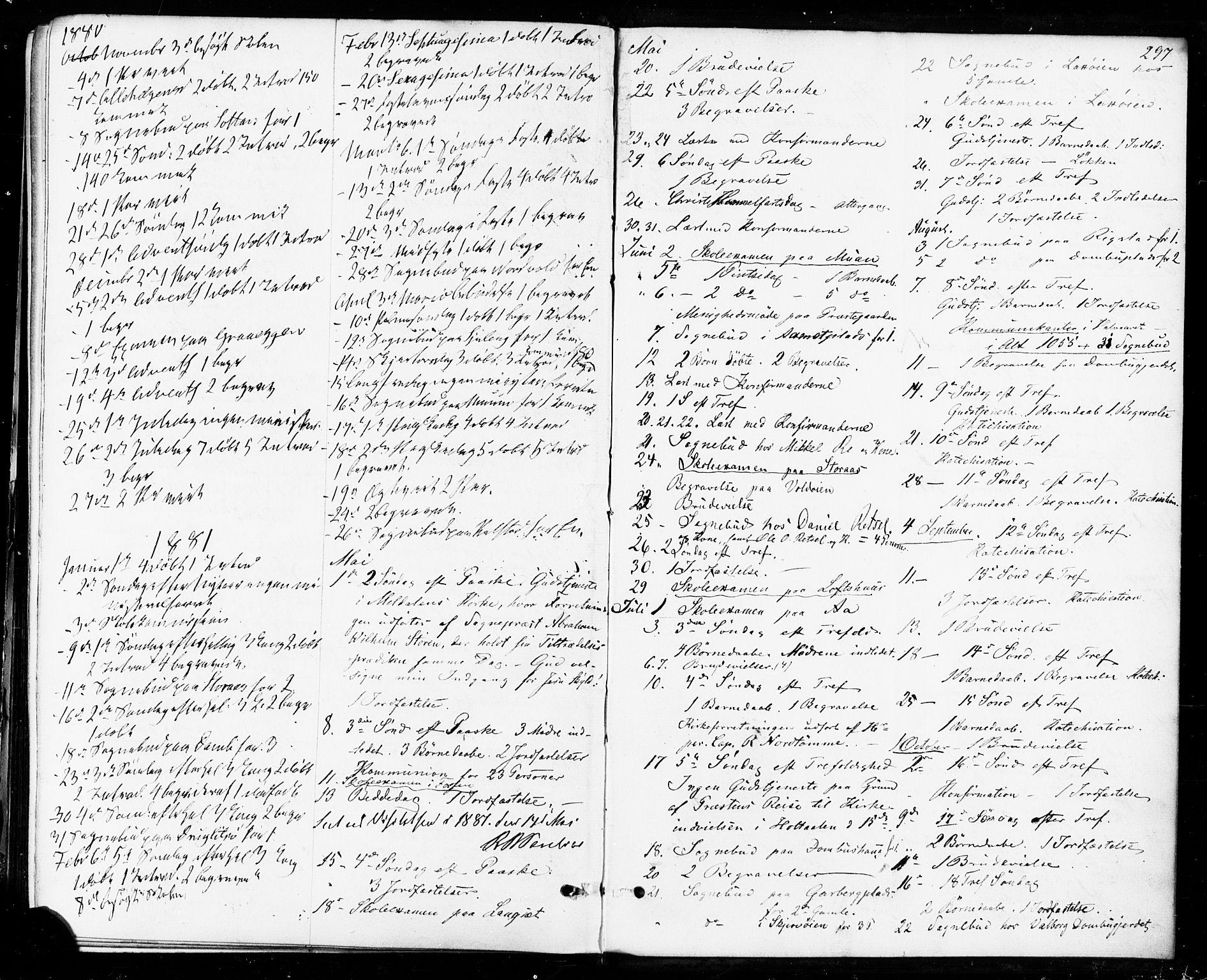 SAT, Ministerialprotokoller, klokkerbøker og fødselsregistre - Sør-Trøndelag, 672/L0856: Ministerialbok nr. 672A08, 1861-1881, s. 297