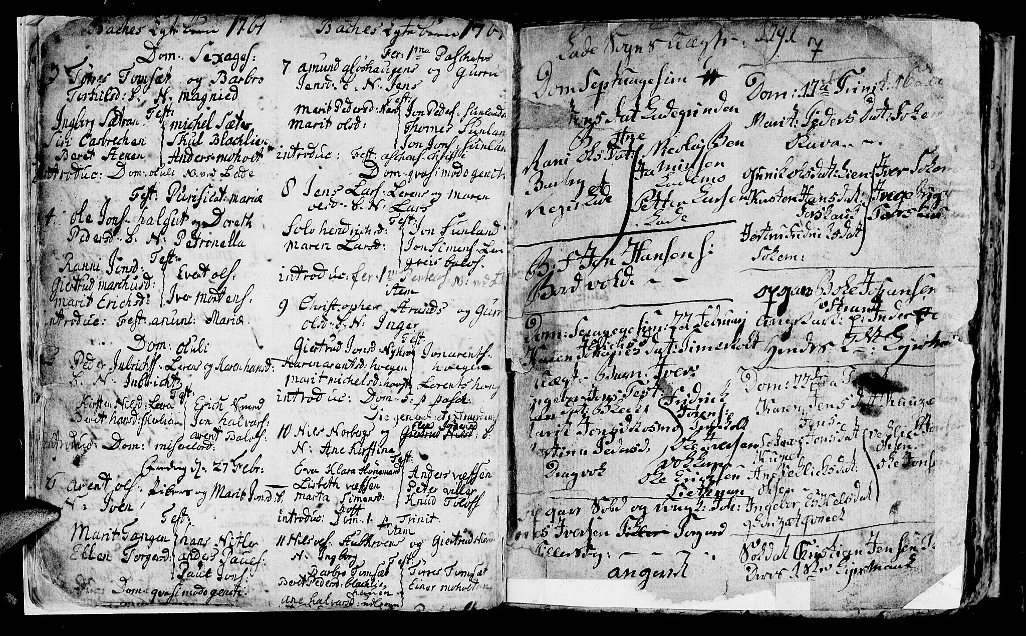 SAT, Ministerialprotokoller, klokkerbøker og fødselsregistre - Sør-Trøndelag, 604/L0218: Klokkerbok nr. 604C01, 1754-1819, s. 7