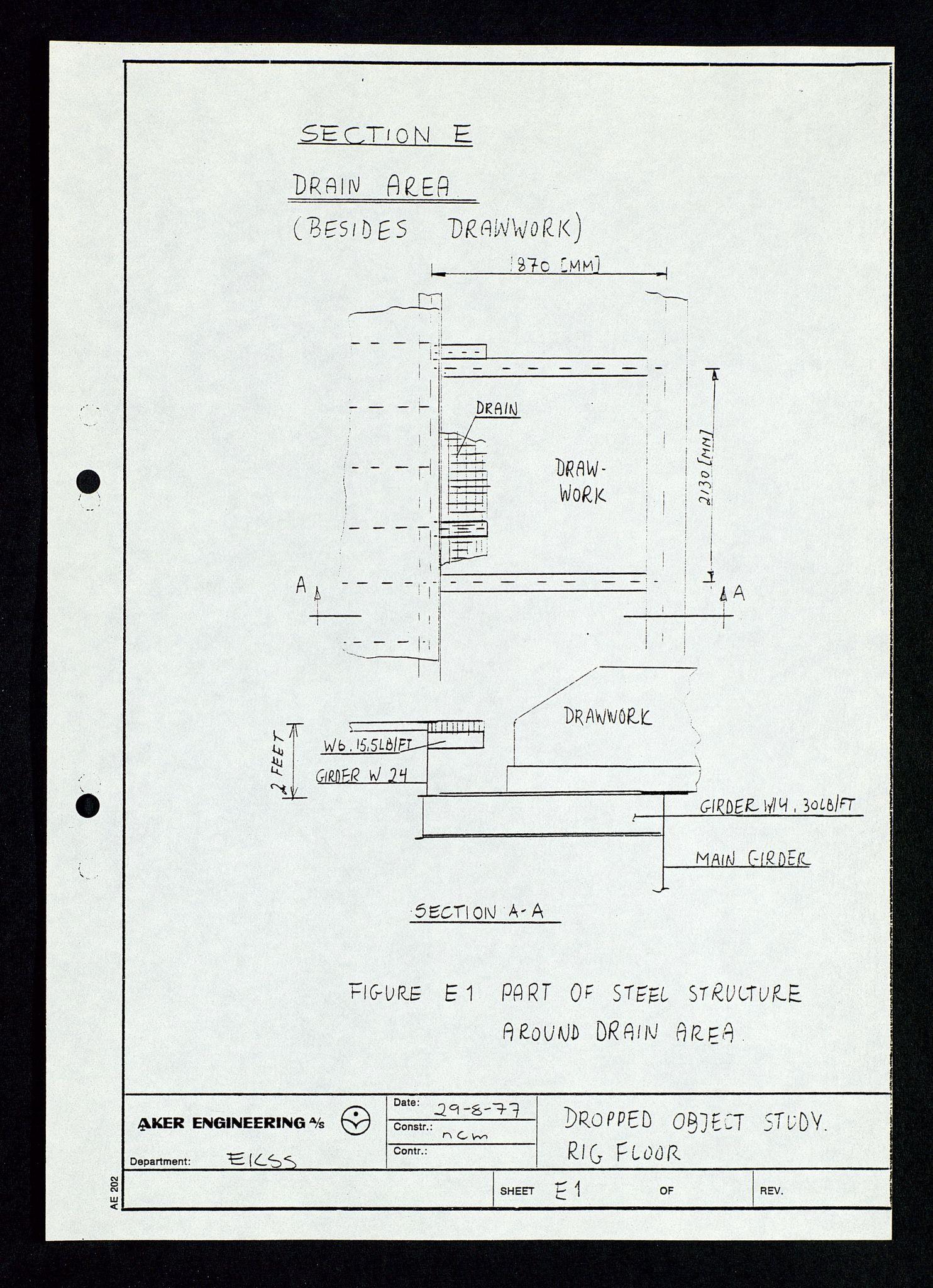 SAST, Pa 1339 - Statoil ASA, D/Dm/L0348: Gravitasjonsplattform betong, 1975-1978, s. 169