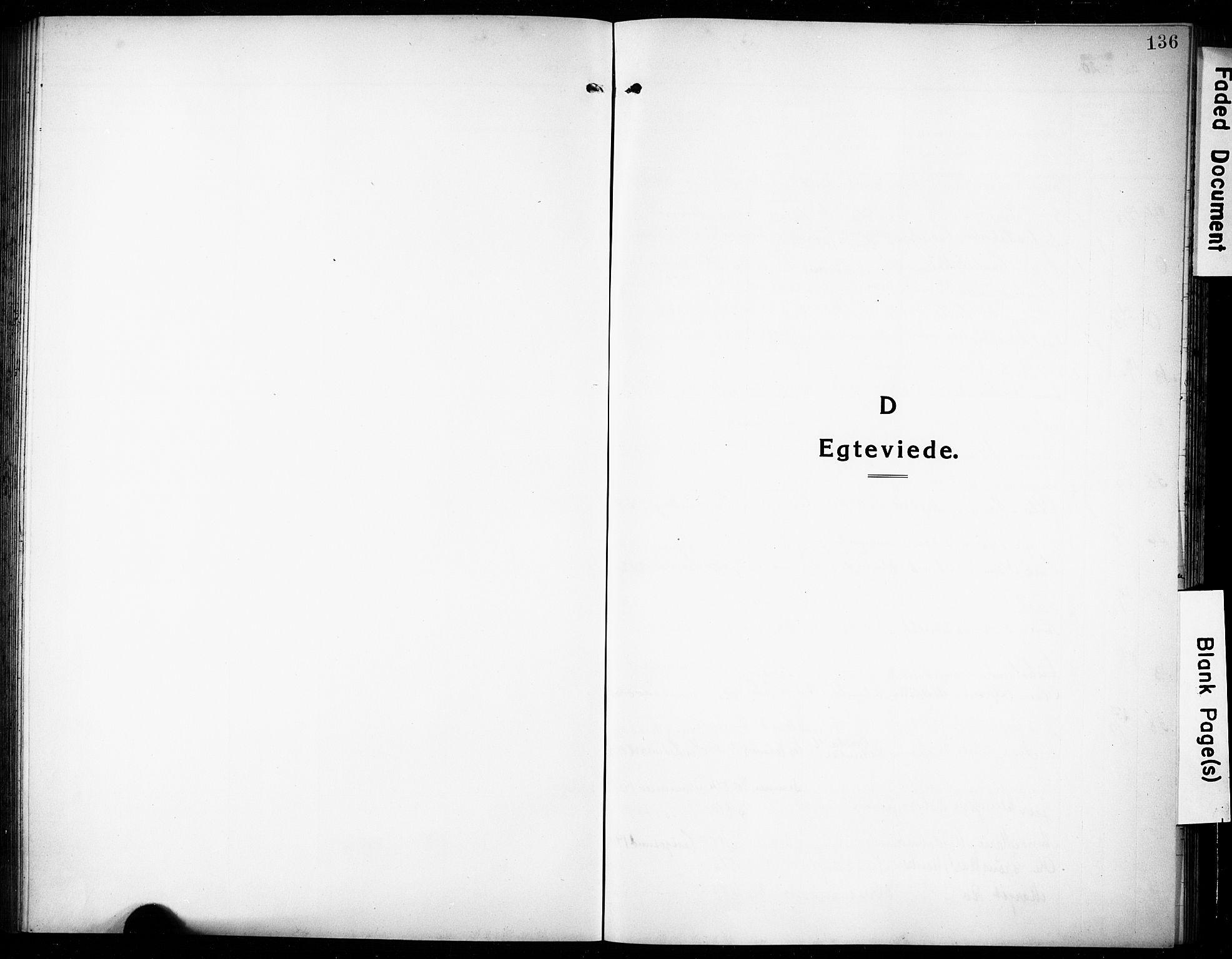 SAKO, Rjukan kirkebøker, G/Ga/L0003: Klokkerbok nr. 3, 1920-1928, s. 136