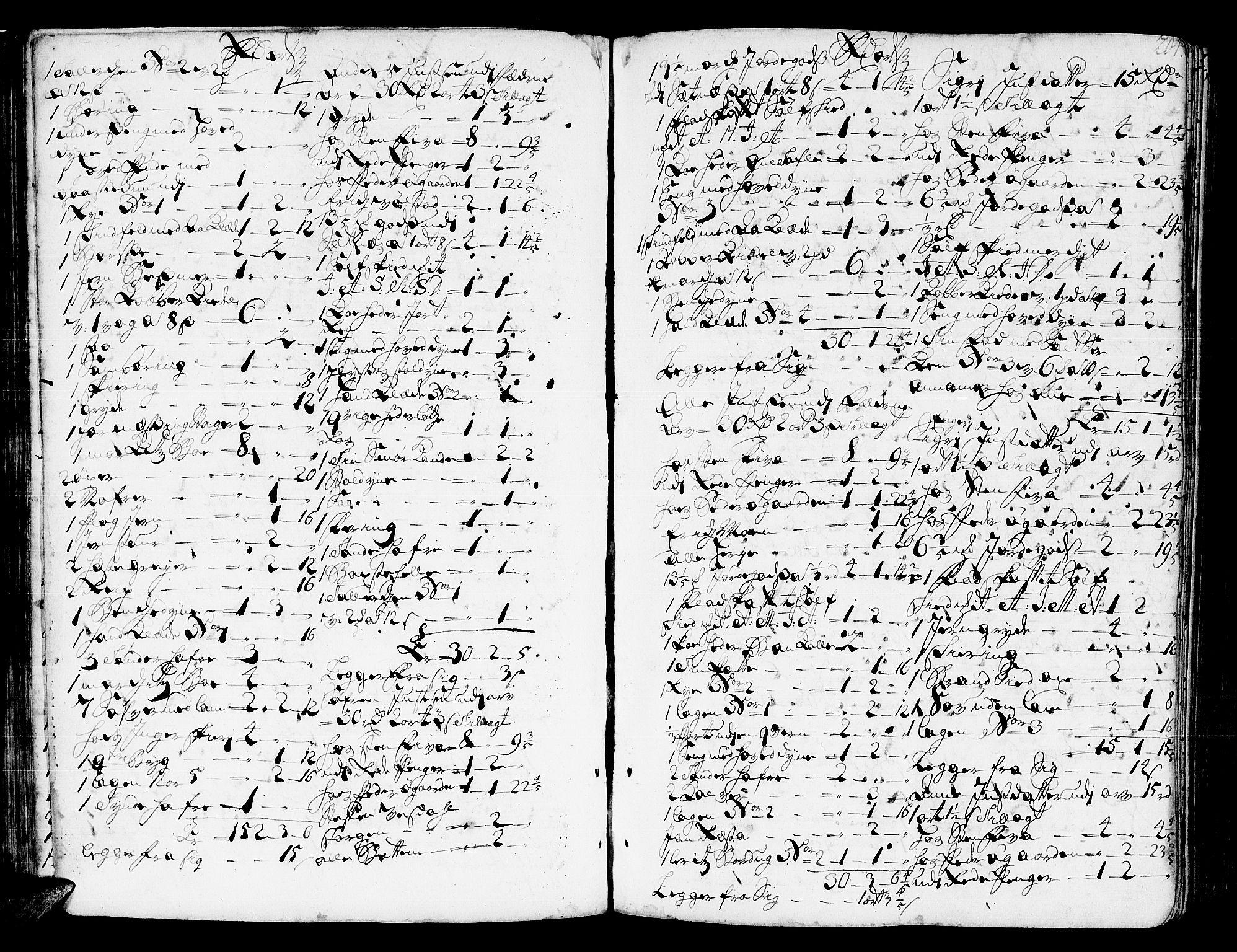 SAT, Romsdal sorenskriveri, 3/3A/L0006: Skifteprotokoll, 1718-1730, s. 203b-204a