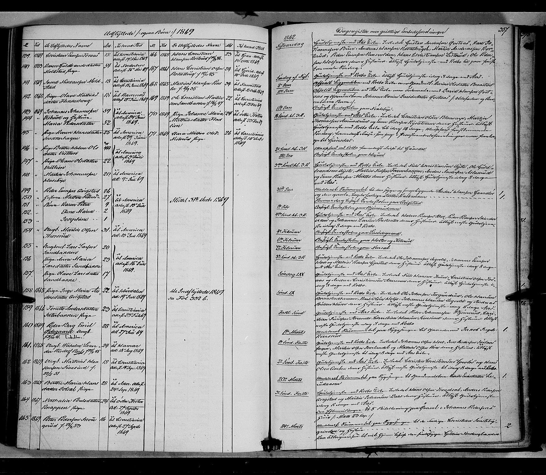 SAH, Vestre Toten prestekontor, Ministerialbok nr. 7, 1862-1869, s. 357