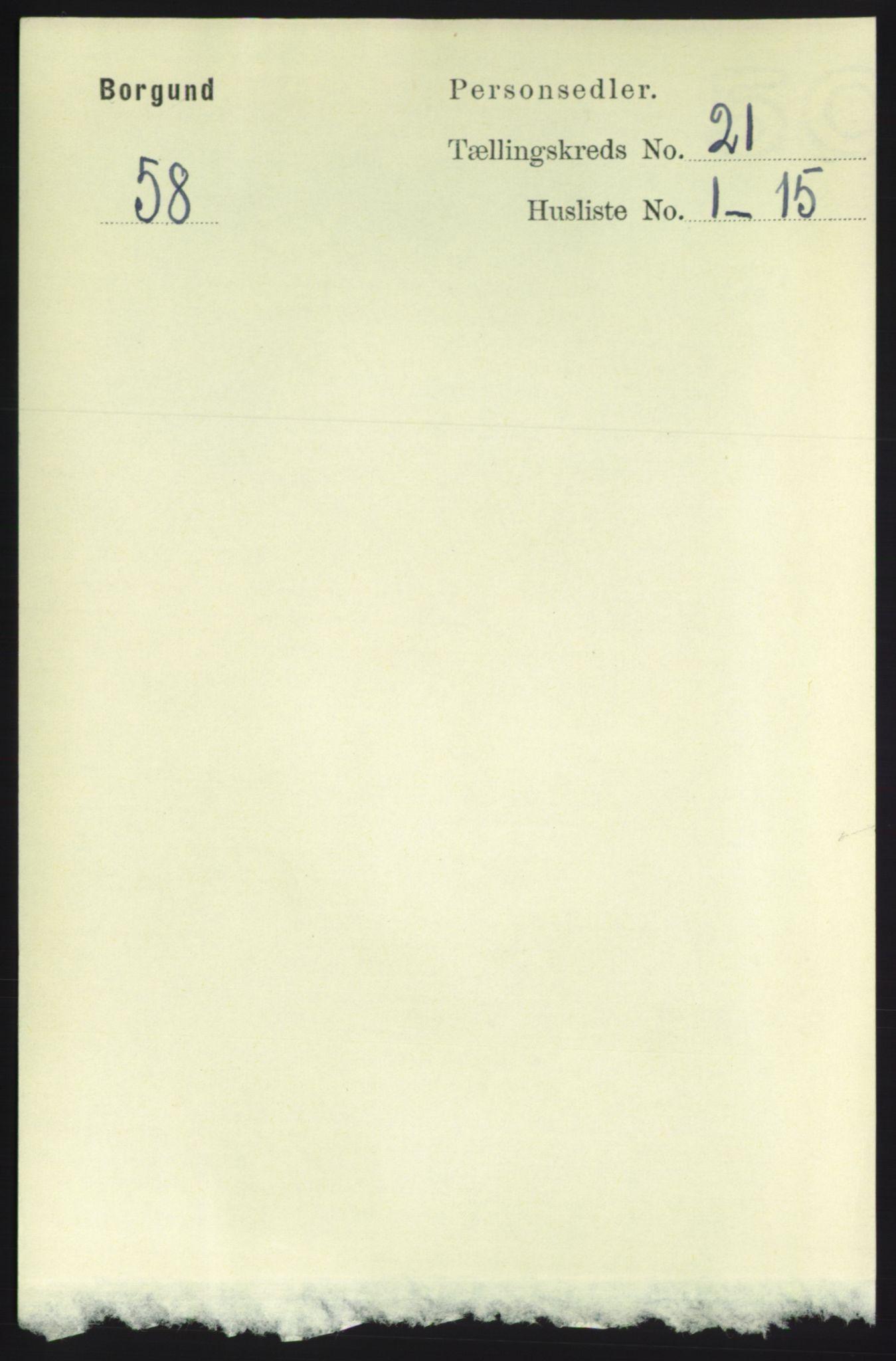 RA, Folketelling 1891 for 1531 Borgund herred, 1891, s. 6341