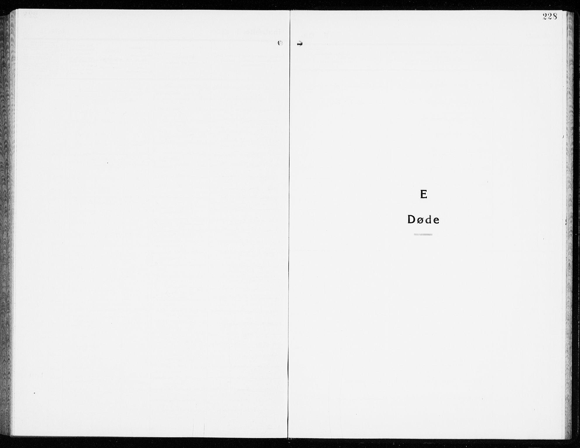 SAKO, Eidanger kirkebøker, G/Ga/L0005: Klokkerbok nr. 5, 1928-1942, s. 228