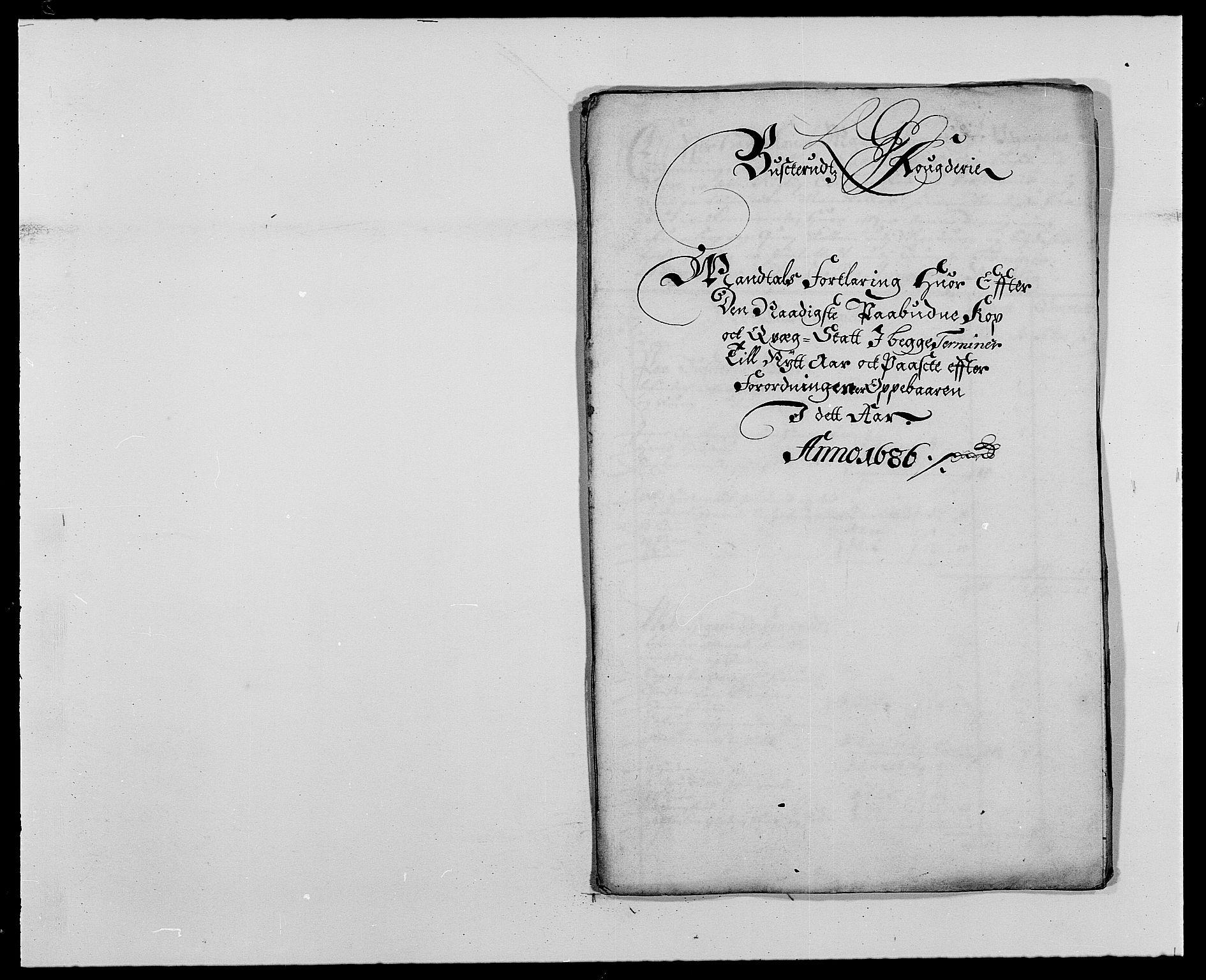 RA, Rentekammeret inntil 1814, Reviderte regnskaper, Fogderegnskap, R25/L1678: Fogderegnskap Buskerud, 1685-1686, s. 355