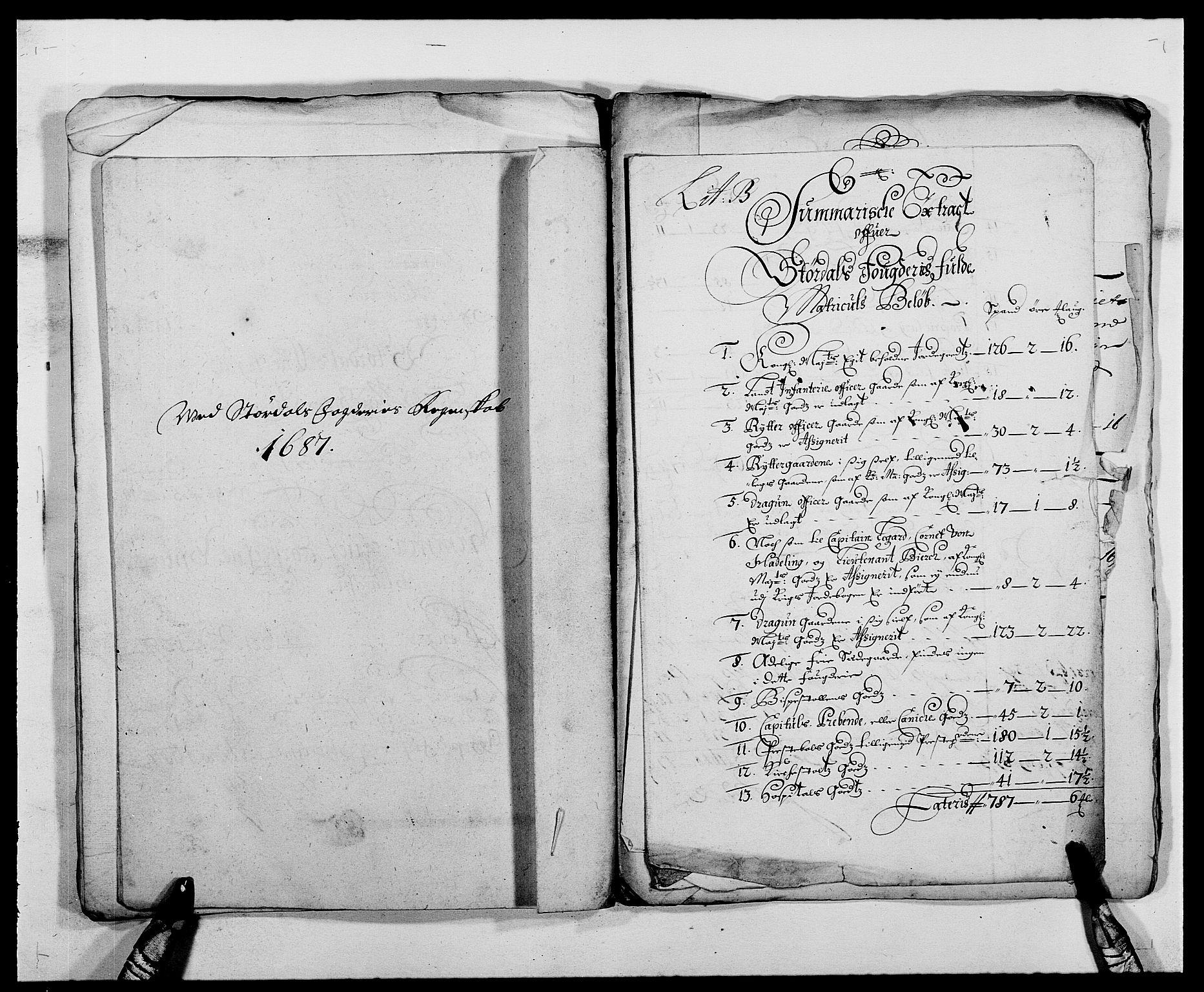 RA, Rentekammeret inntil 1814, Reviderte regnskaper, Fogderegnskap, R62/L4183: Fogderegnskap Stjørdal og Verdal, 1687-1689, s. 41