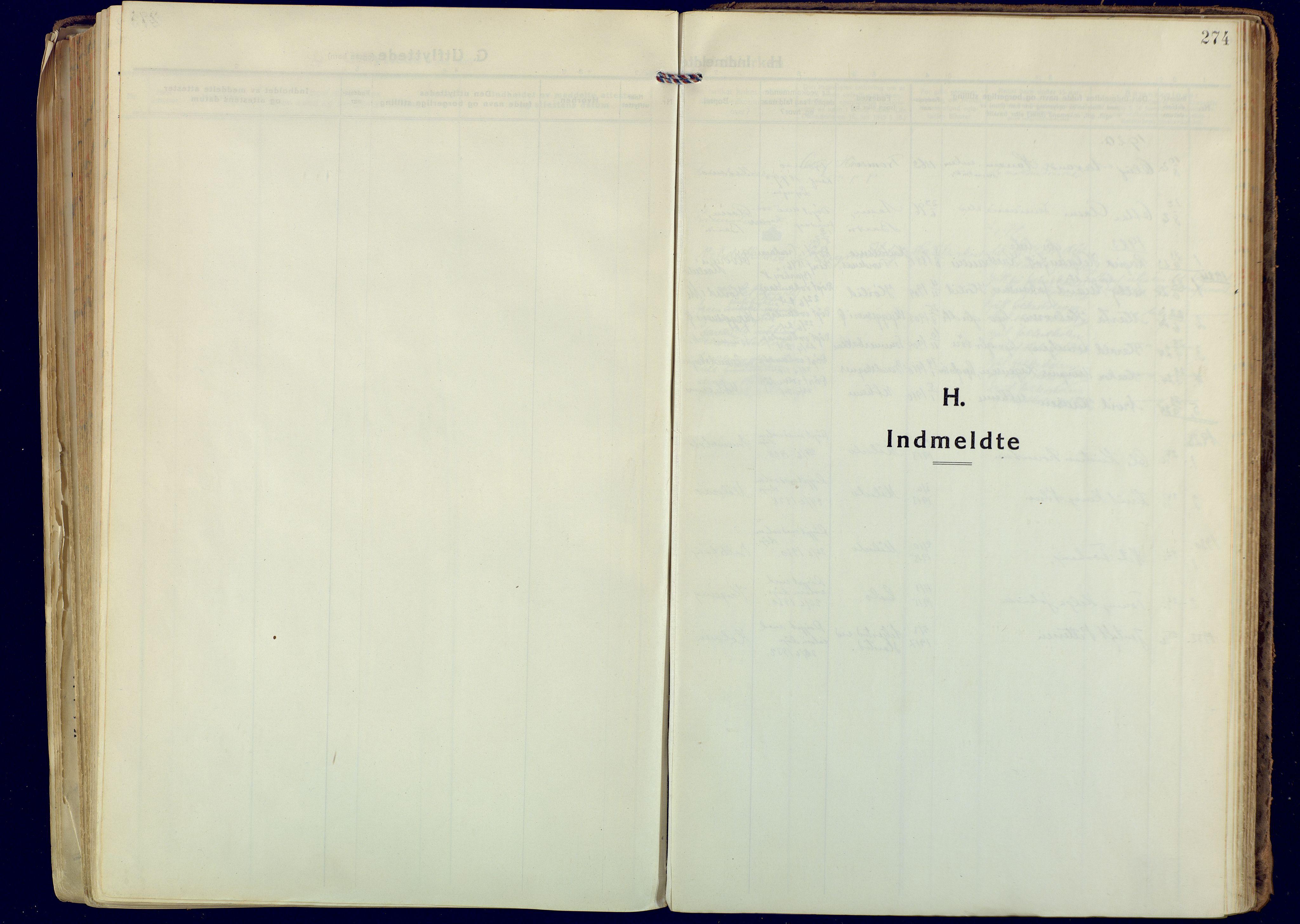 SATØ, Målselv sokneprestembete, Ministerialbok nr. 14, 1919-1932, s. 274