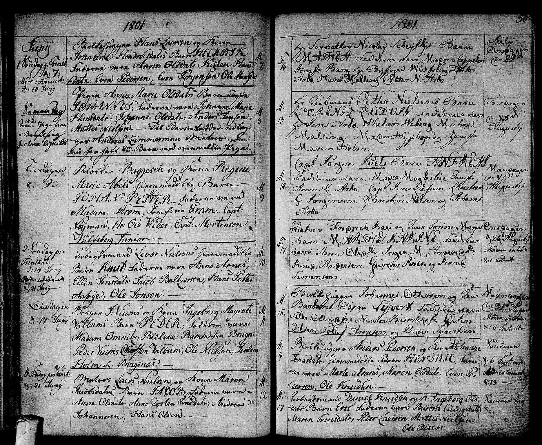 SAKO, Strømsø kirkebøker, F/Fa/L0010: Ministerialbok nr. I 10, 1792-1822, s. 50