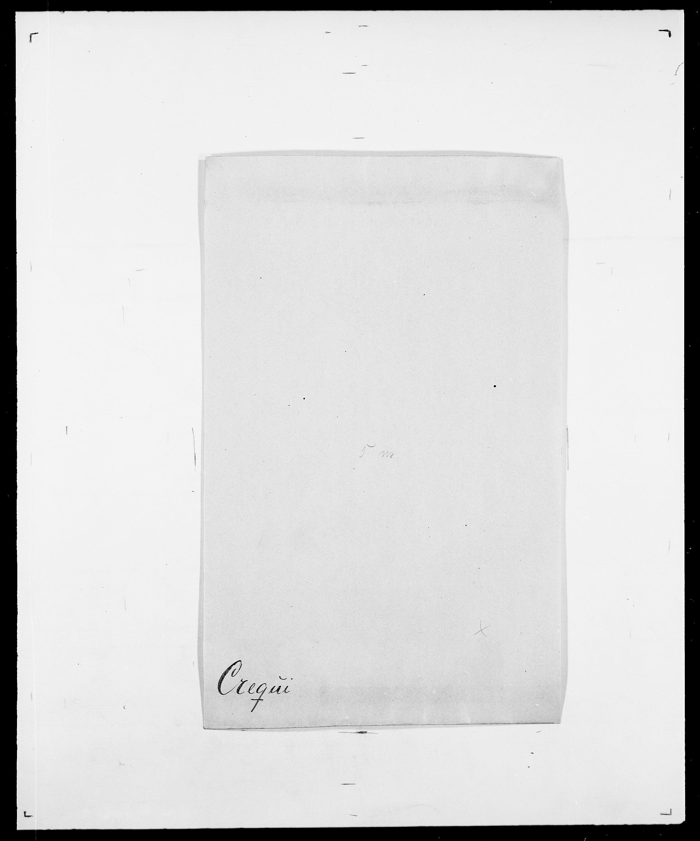 SAO, Delgobe, Charles Antoine - samling, D/Da/L0008: Capjon - Dagenbolt, s. 598