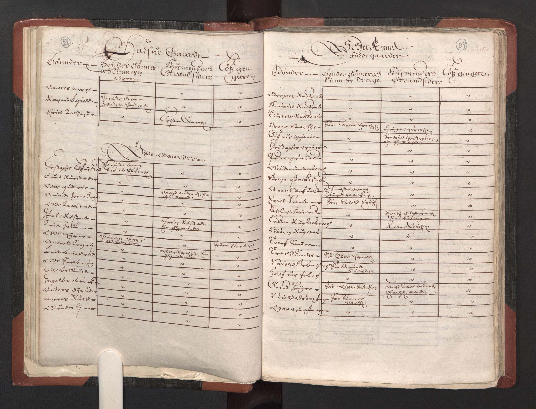 RA, Fogdenes og sorenskrivernes manntall 1664-1666, nr. 2: Aker fogderi, Follo fogderi, Nedre Romerike fogderi og Øvre Romerike fogderi, 1664, s. 58-59