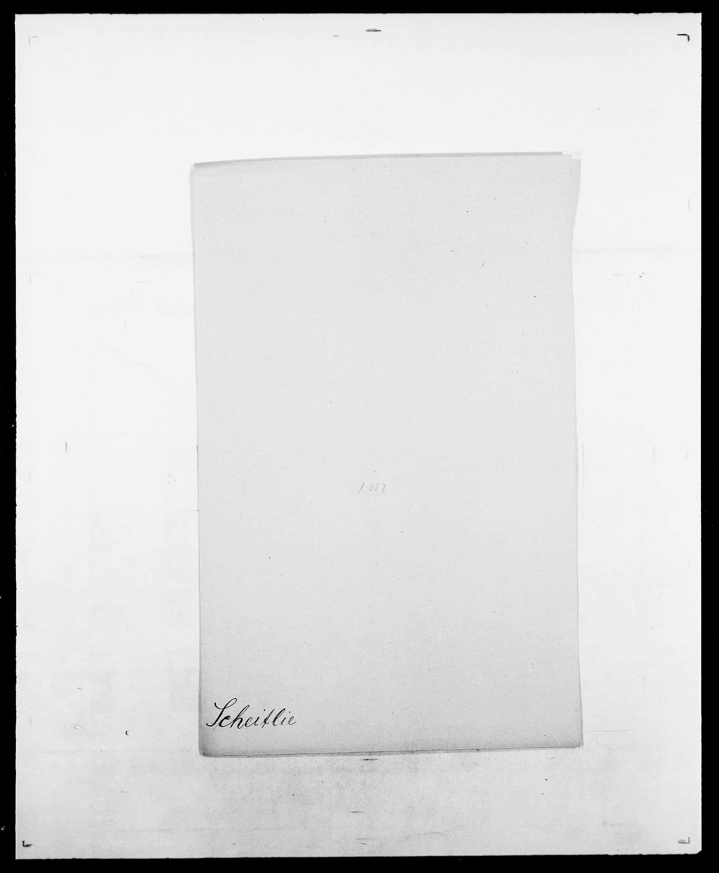 SAO, Delgobe, Charles Antoine - samling, D/Da/L0034: Saabye - Schmincke, s. 467