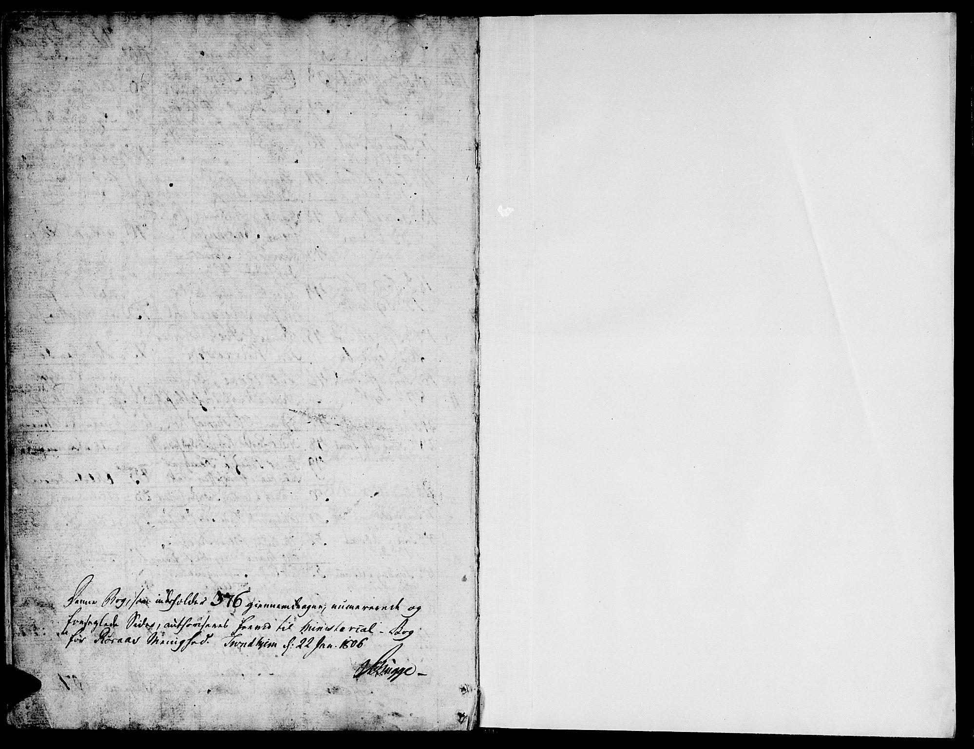 SAT, Ministerialprotokoller, klokkerbøker og fødselsregistre - Sør-Trøndelag, 681/L0928: Ministerialbok nr. 681A06, 1806-1816